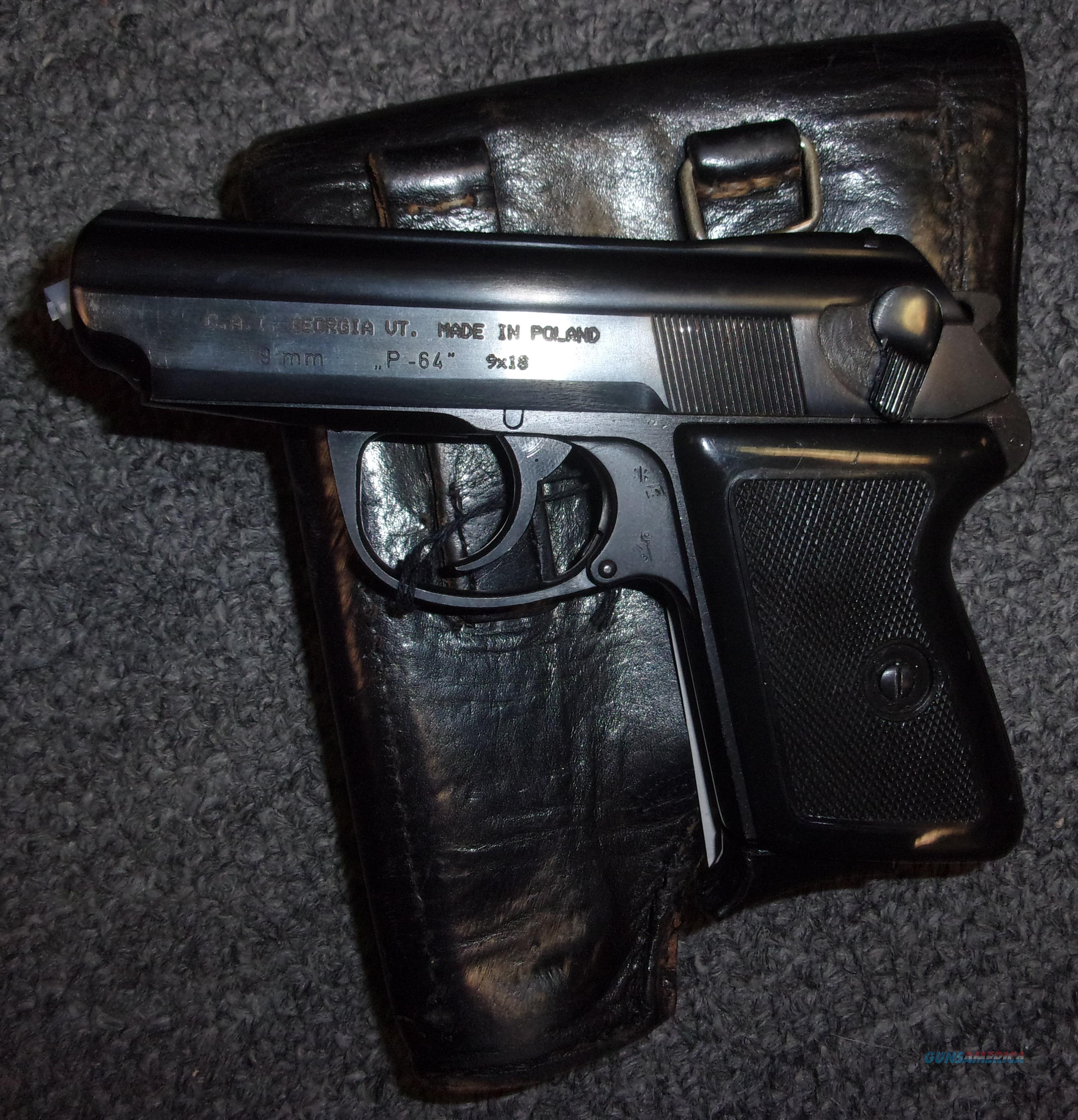 Polish/CAI P-64  Guns > Pistols > Century International Arms - Pistols > Pistols