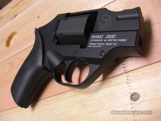 Rhino 200DS (Black) made in Italy  Guns > Pistols > C Misc Pistols