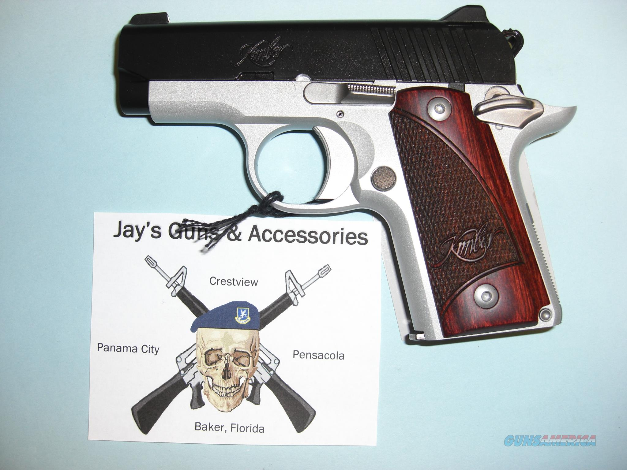 Kimber Micro 380 w/Two Tone Finish Guns > Pistols >  Kimber of America Pistols > Micro