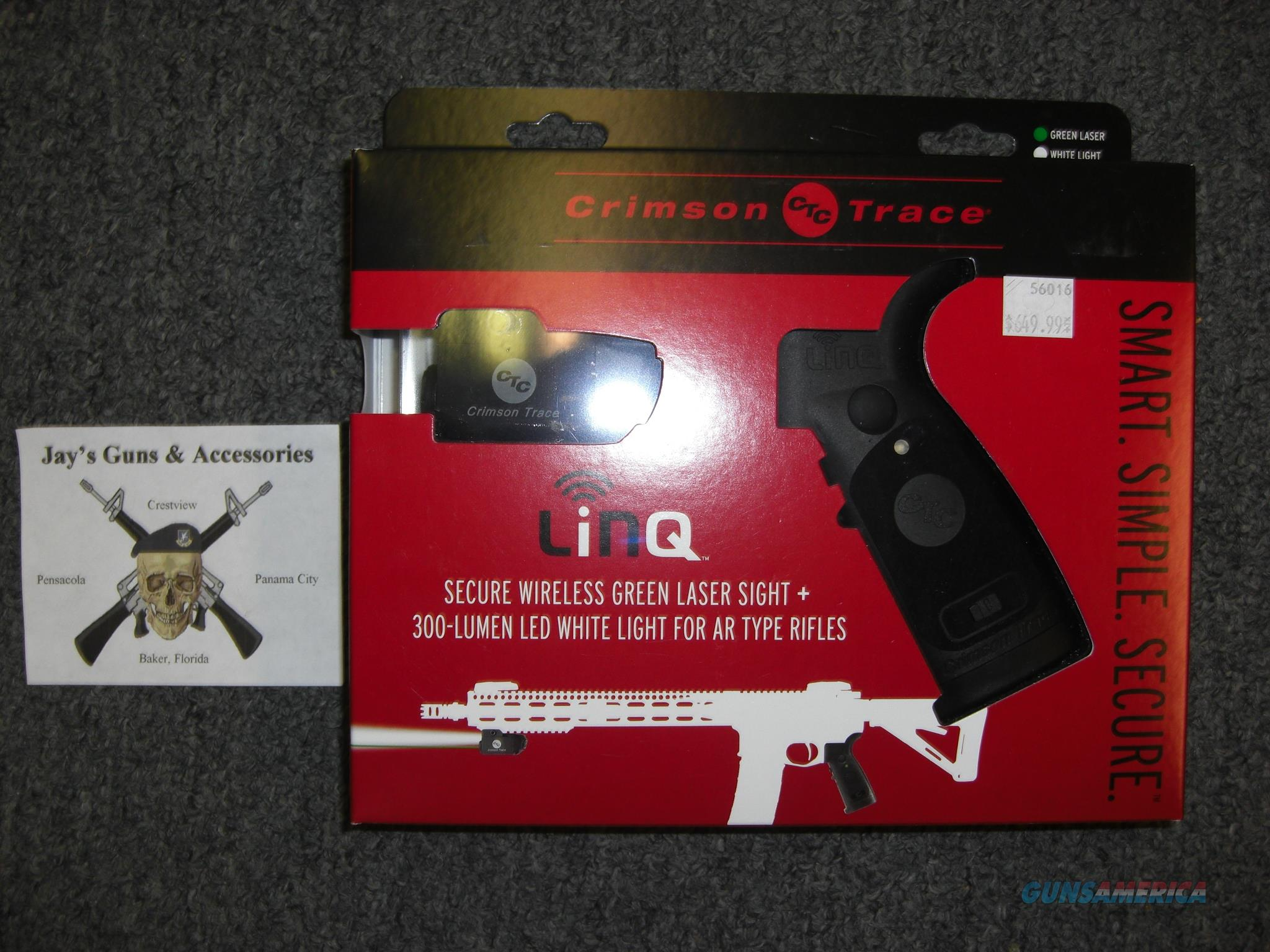 Crimson Trace LiNQ Wireless Green Laser Sight + White Light for AR Type Rifles (LNQ-100G)  Non-Guns > Lights > Tactical