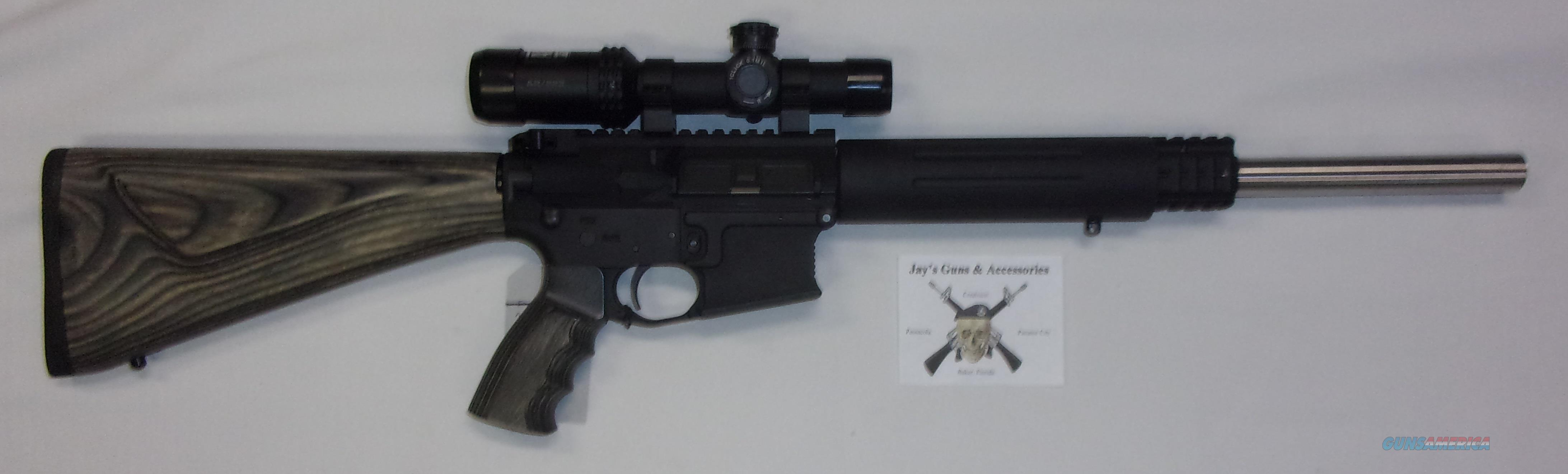 C3 Defense C3-15 w/Scope  Guns > Rifles > AR-15 Rifles - Small Manufacturers > Complete Rifle