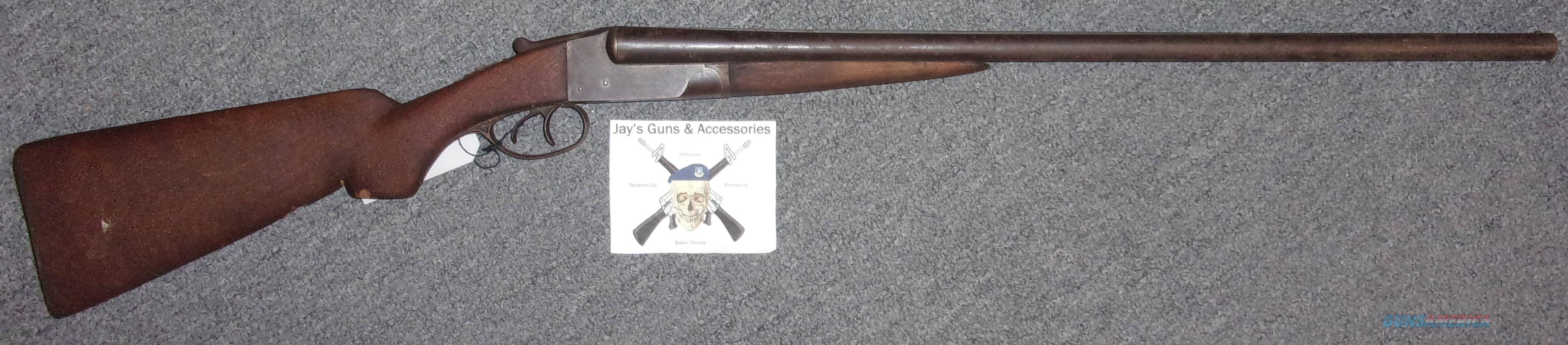 Ithaca Gun Company Hammerless  Guns > Shotguns > Ithaca Shotguns > SxS