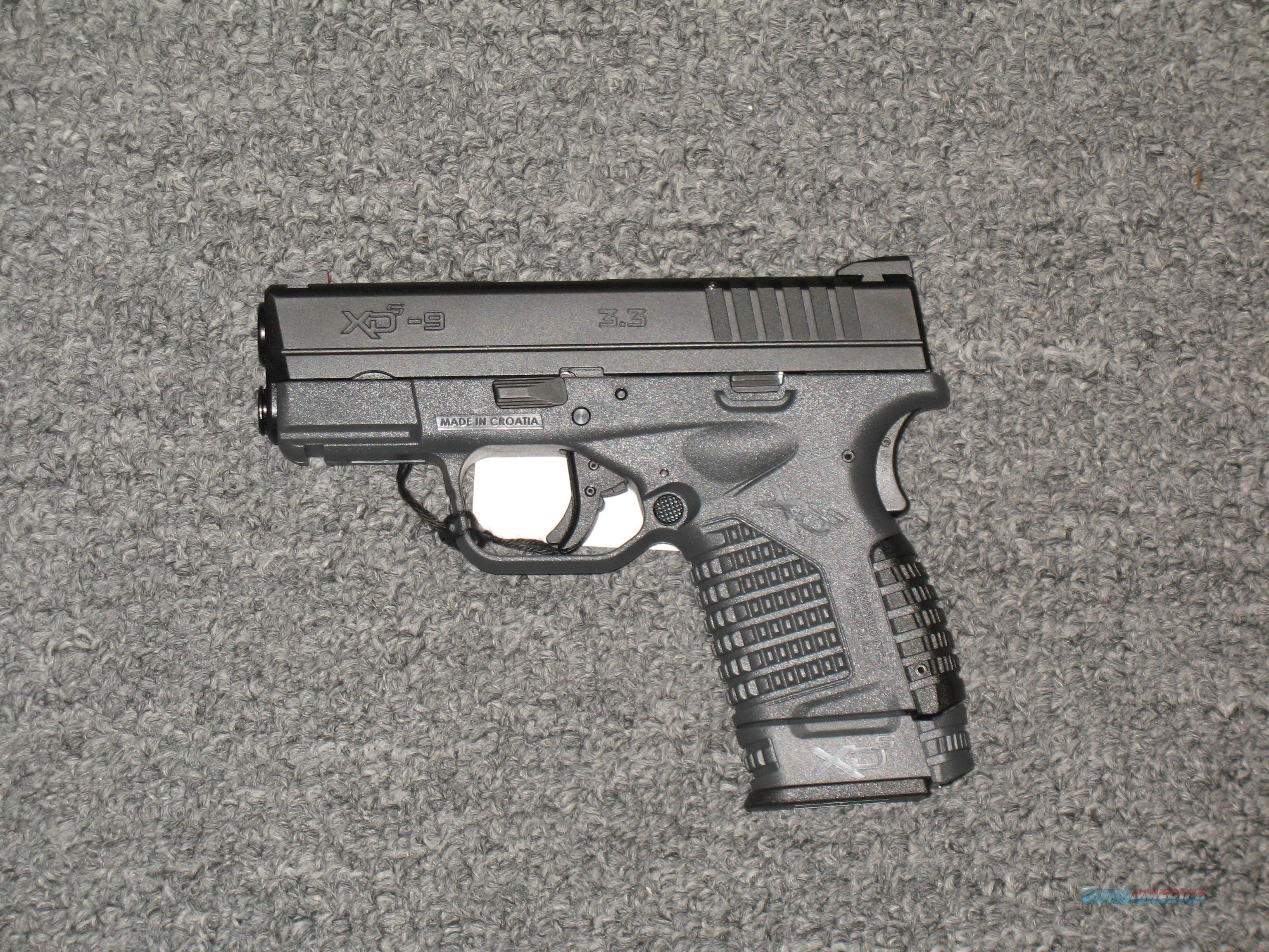 XDS-9 w/one 7 rd and one 8 rd mags with a black and grey finish 3.3  Guns > Pistols > Springfield Armory Pistols > XD-S