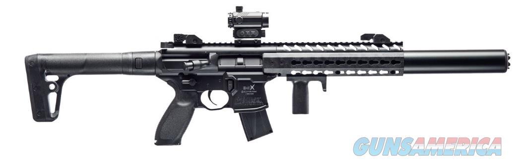 Sig Sauer MCX Air Rifle (AIR-MCX-SCOPE-177-88G-30-BLK) w/Scope  Non-Guns > Air Rifles - Pistols > Adult High Velocity