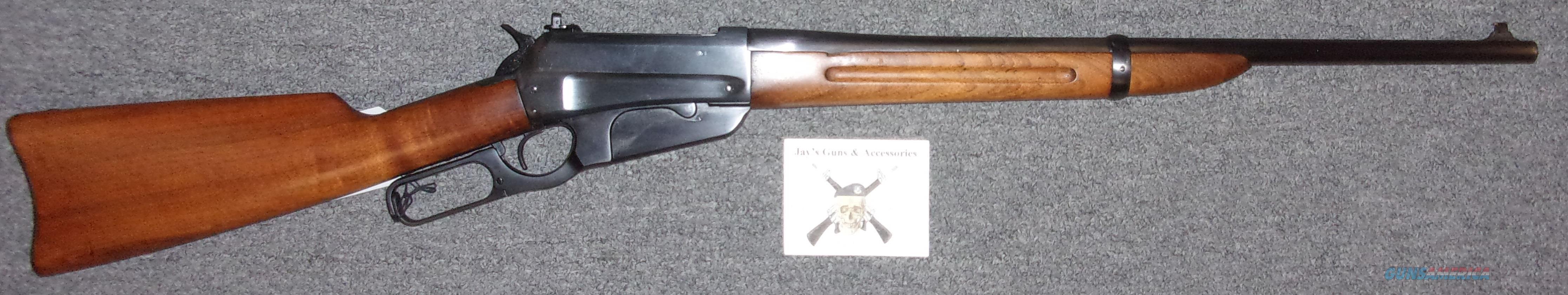 Winchester 1895 Carbine  Guns > Rifles > Winchester Rifles - Pre-1899 Lever
