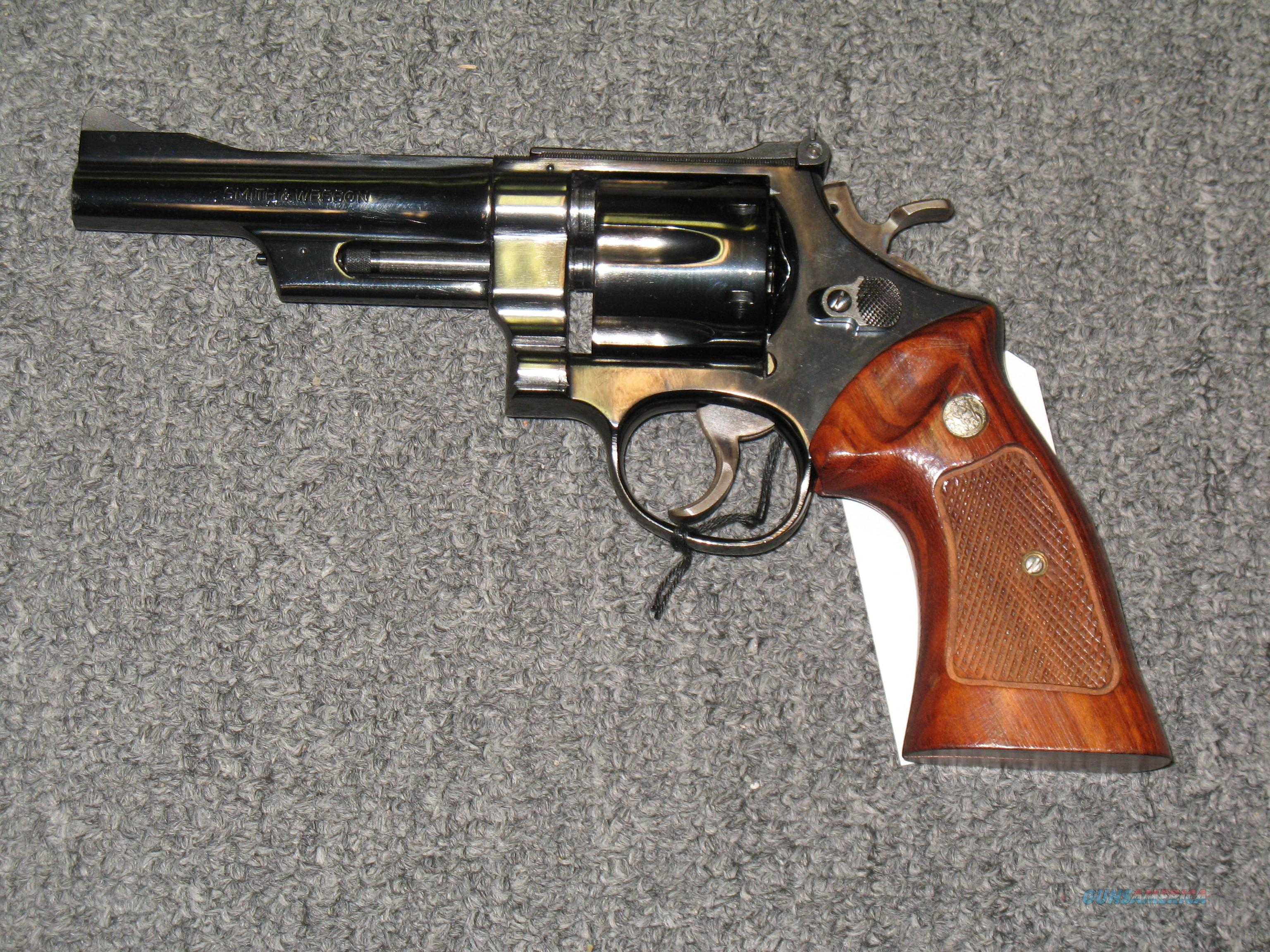 "Smith & Wesson 27-2  5"" Pinned bbl  Guns > Pistols > Smith & Wesson Revolvers > Full Frame Revolver"