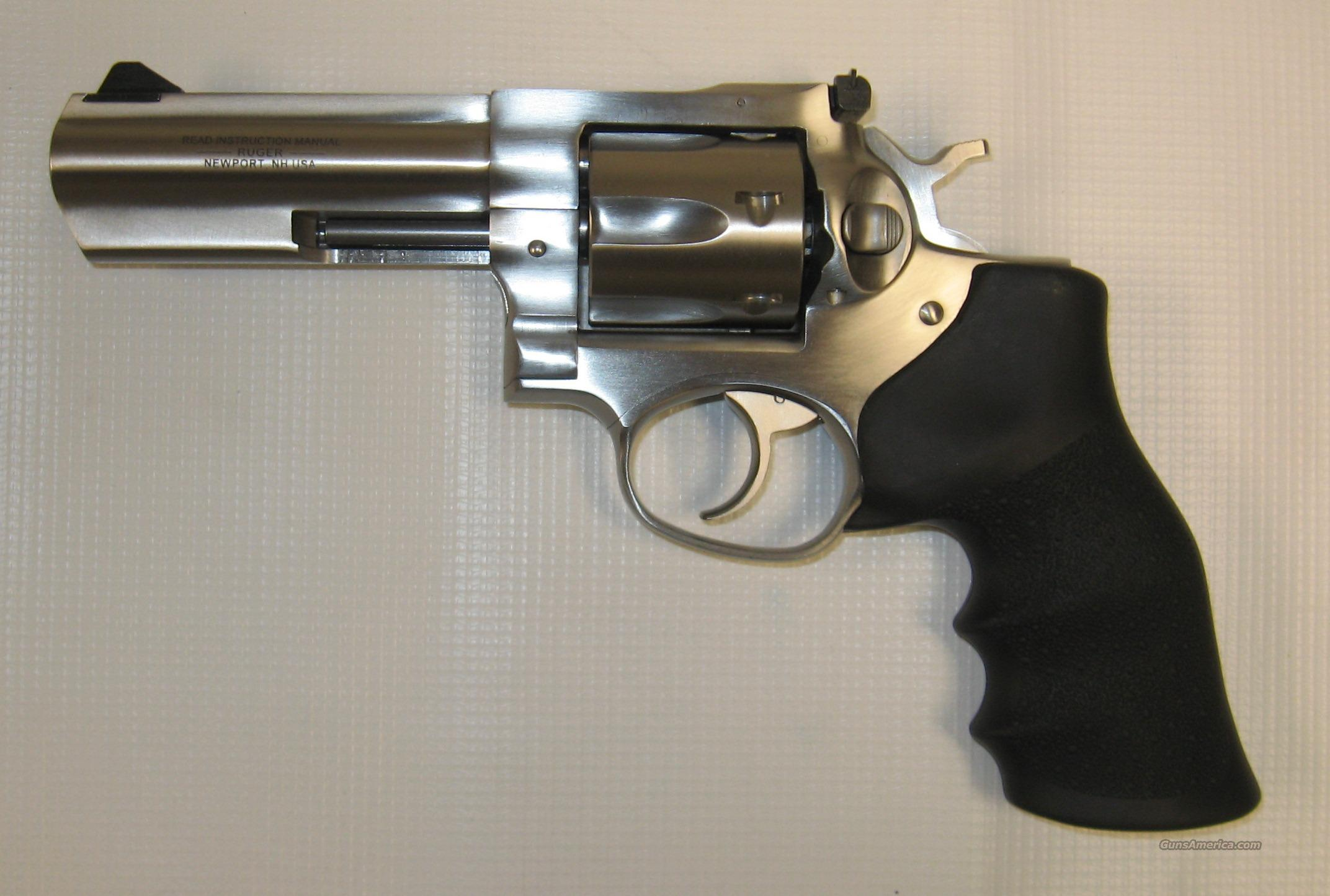 "Ruger GP 100 4"" Stainless  Guns > Pistols > Ruger Double Action Revolver > SP101 Type"