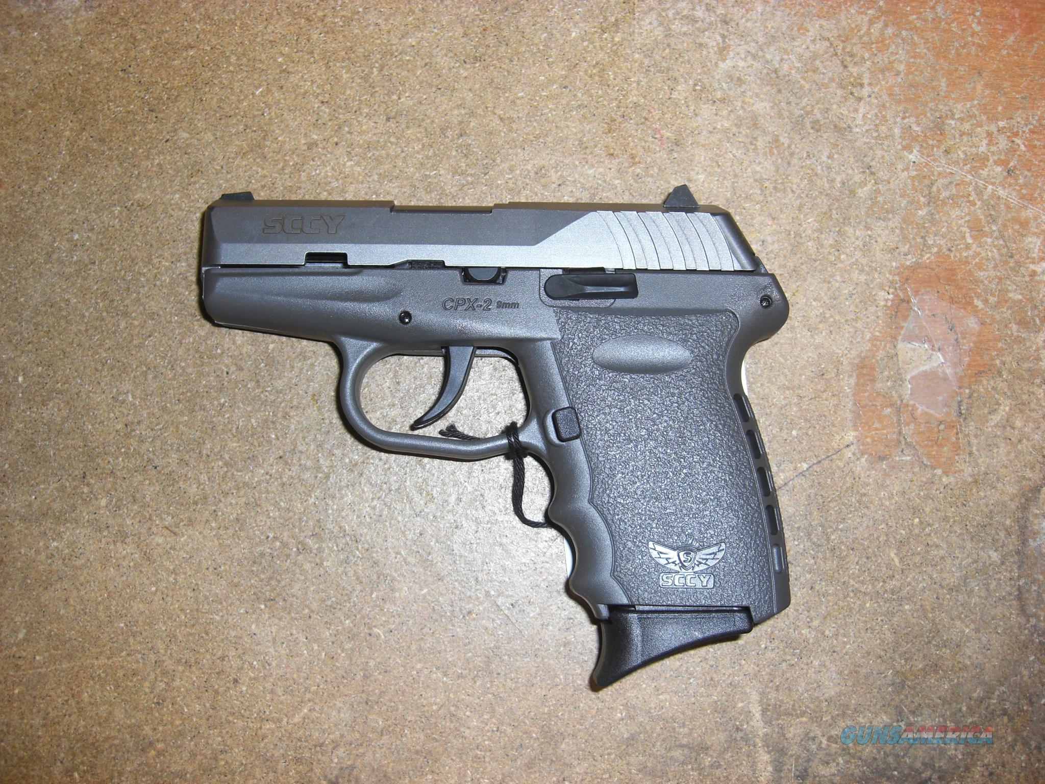 SCCY CPX-2  w/2 tone stainless finish (no safety)  Guns > Pistols > S Misc Pistols