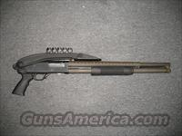 Mossberg 500 Persuader W/ Heatshield and over folding stock  Guns > Shotguns > Mossberg Shotguns > Pump > Tactical