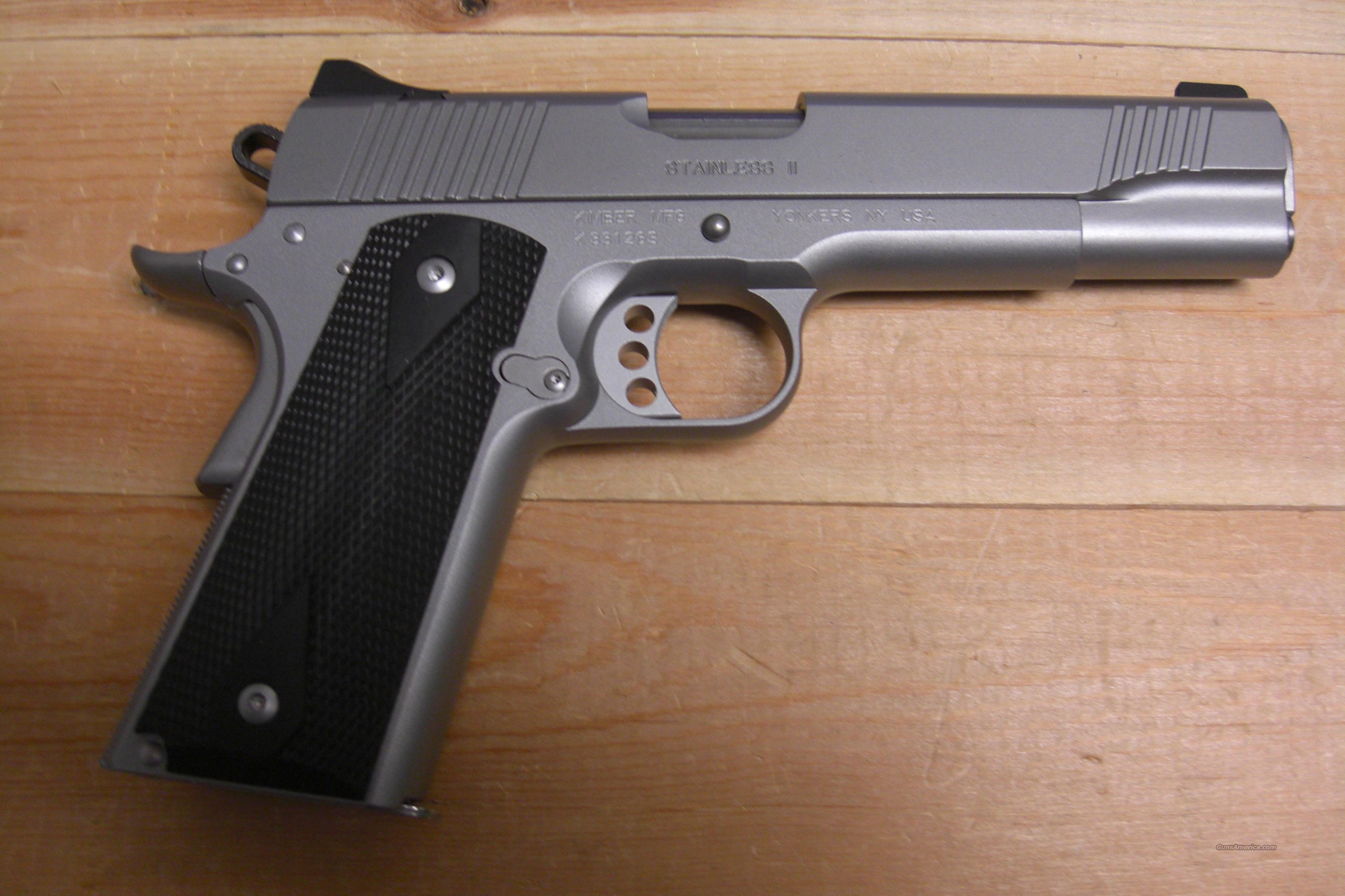 Stainless II  w/night sights  Guns > Pistols > Kimber of America Pistols