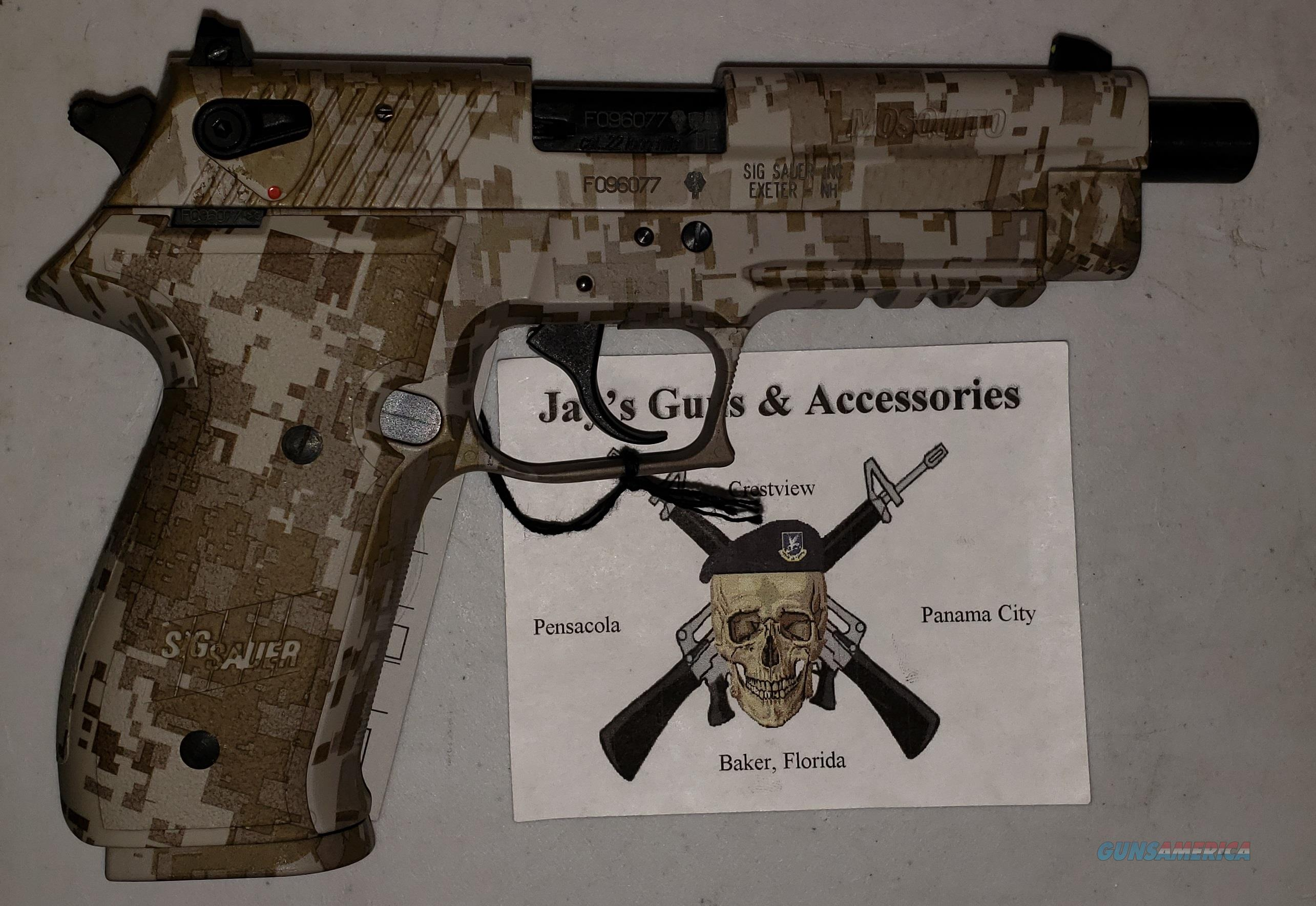 Sig Sauer Mosquito w/Desert Camo Finish  Guns > Pistols > Sig - Sauer/Sigarms Pistols > Mosquito