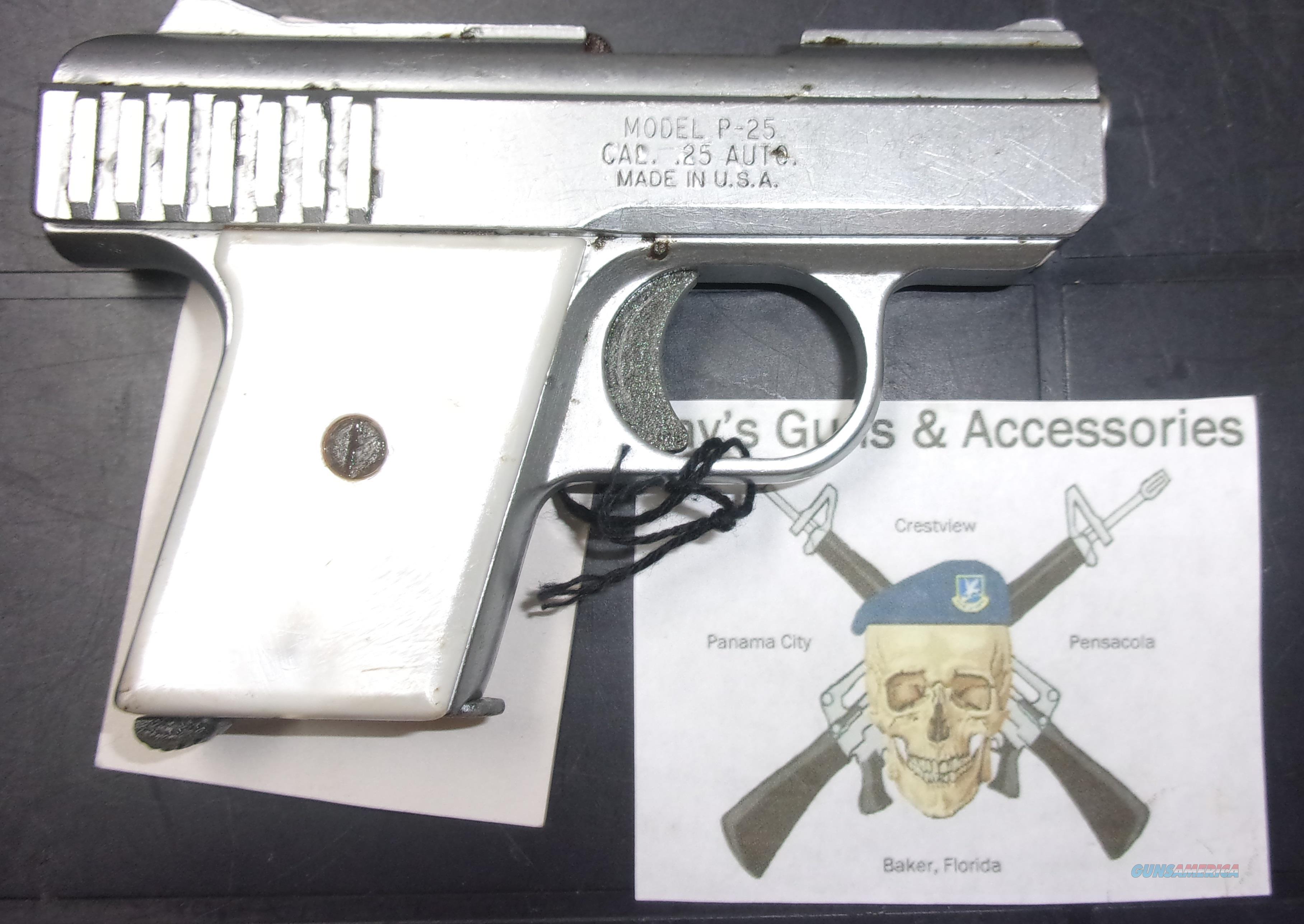 Raven R-25  Guns > Pistols > R Misc Pistols
