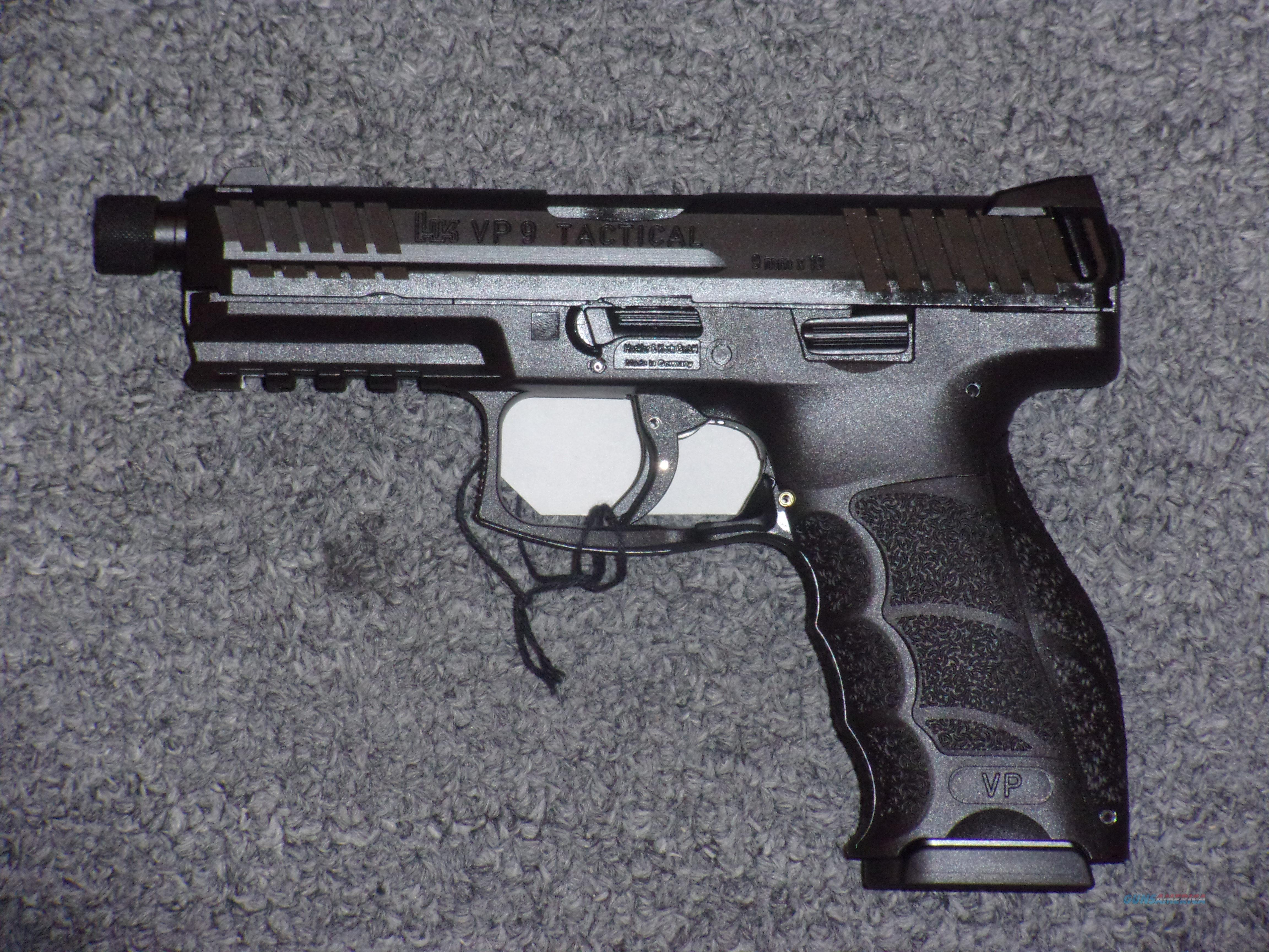 Heckler & Koch VP9 Tactical  Guns > Pistols > Heckler & Koch Pistols > Polymer Frame