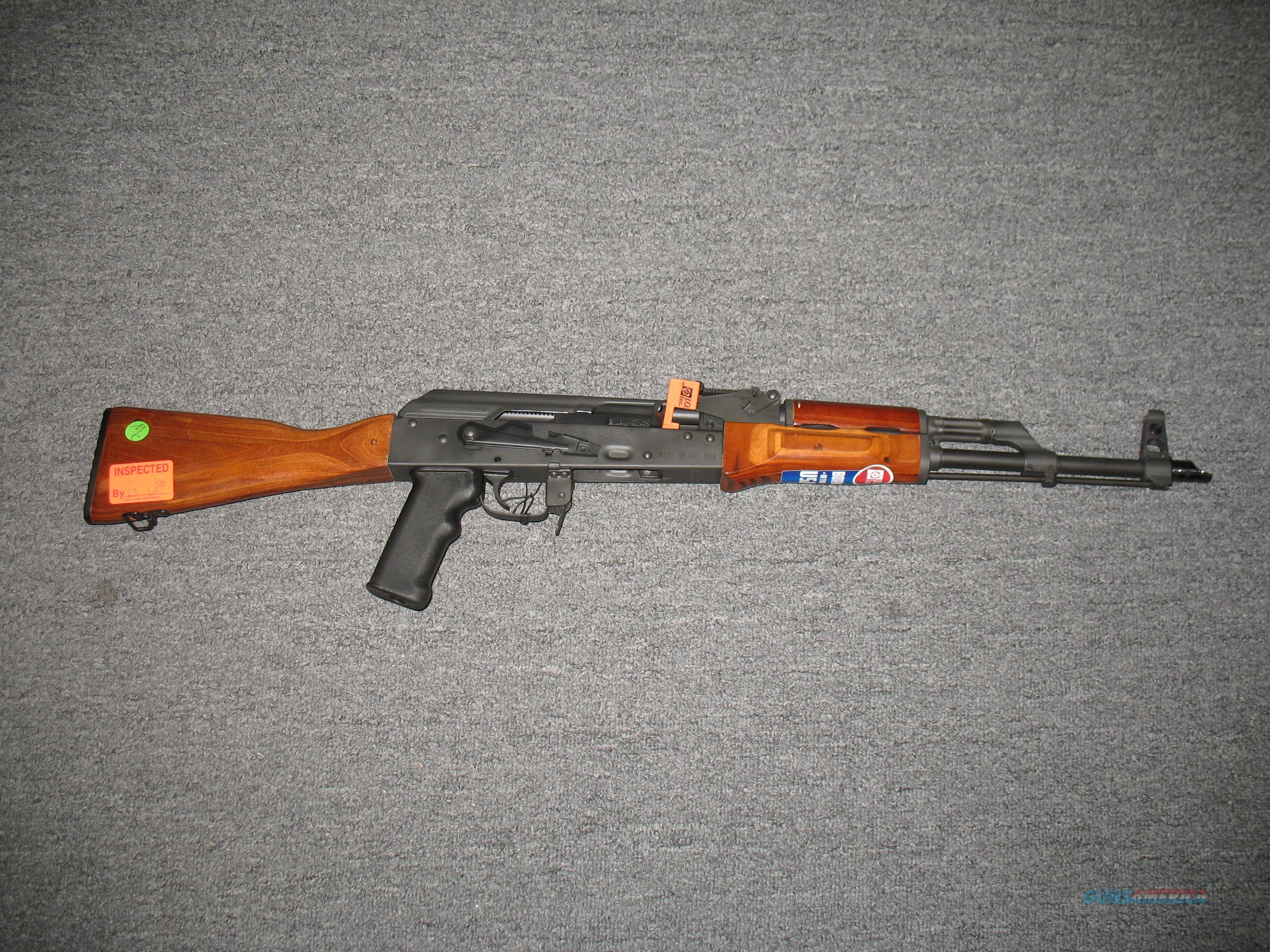 I.O. Inc Sporter (Made in the USA)  Guns > Rifles > AK-47 Rifles (and copies) > Full Stock