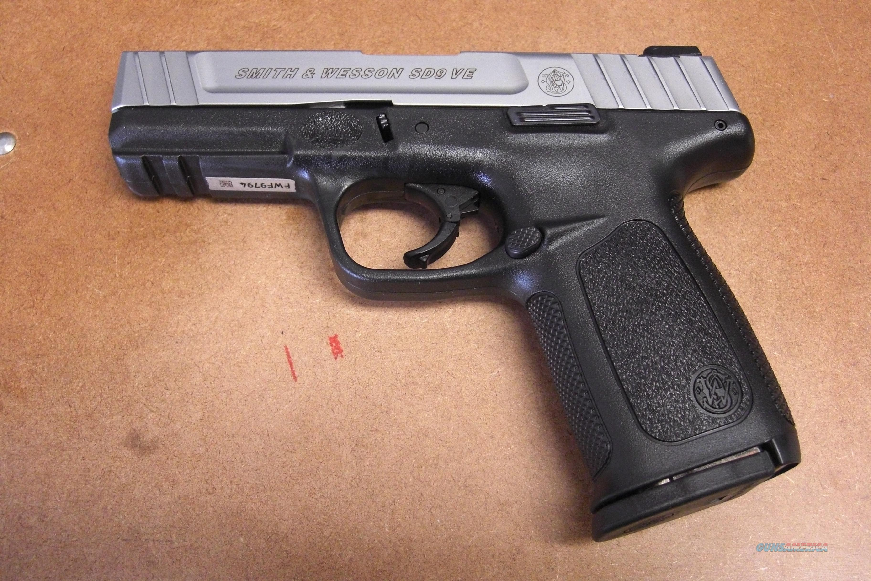 SD9VE w/2 16 rd mags  Guns > Pistols > Smith & Wesson Pistols - Autos > Polymer Frame