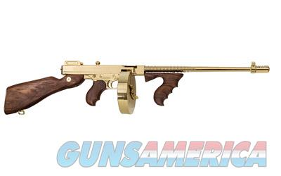 Auto-Ordnance 1927 A1 Thompson w/Gold Finish  Guns > Rifles > Auto Ordnance Rifles