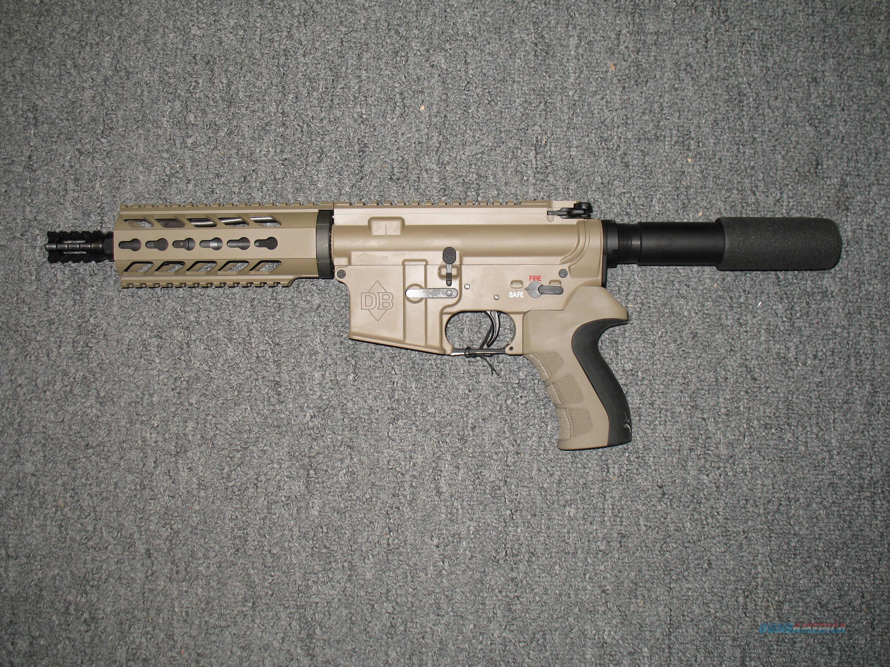 Diamondback Firearms DB-15 (Flat Dark Earth)  Guns > Pistols > Diamondback Pistols
