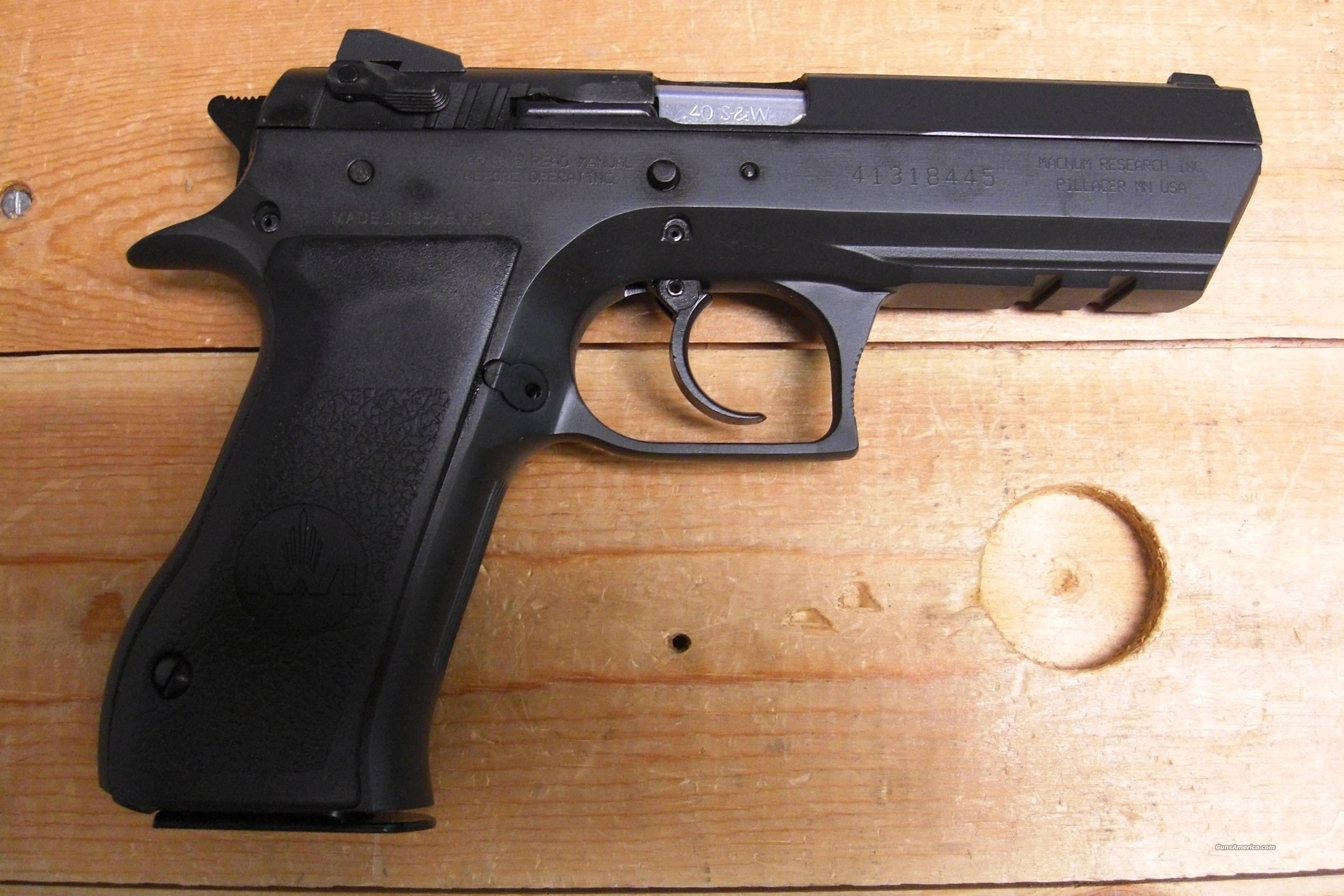 Baby Eagle II  .40S&W w/rail  Guns > Pistols > Magnum Research Pistols