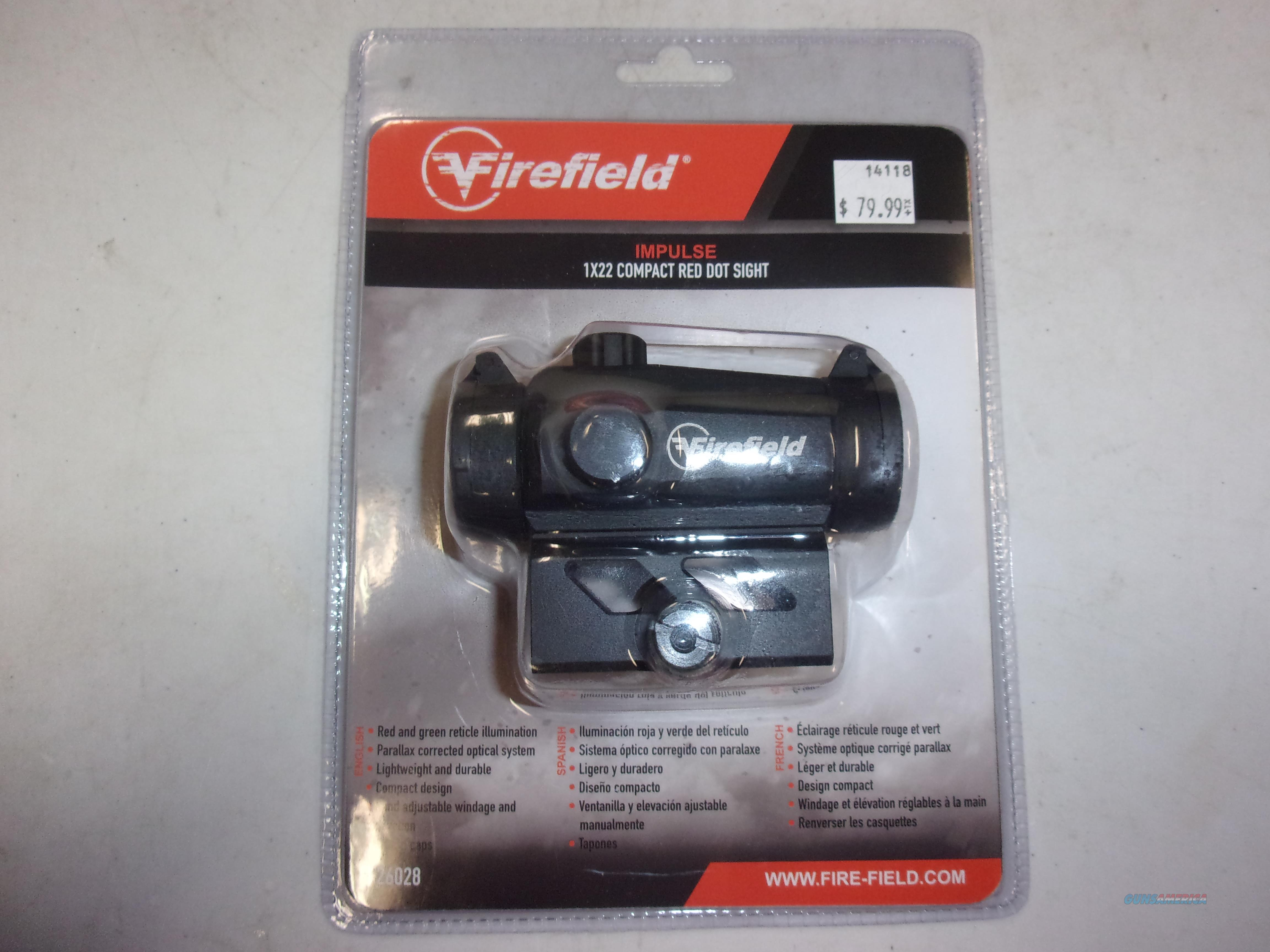 Firefield Impulse red dot sight  Non-Guns > Scopes/Mounts/Rings & Optics > Tactical Scopes > Red Dot