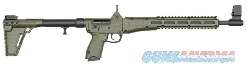 Kel-Tec Sub-2000 Gen 2 w/OD Green Finish & Uses Beretta 92 Mags  Guns > Rifles > Kel-Tec Rifles