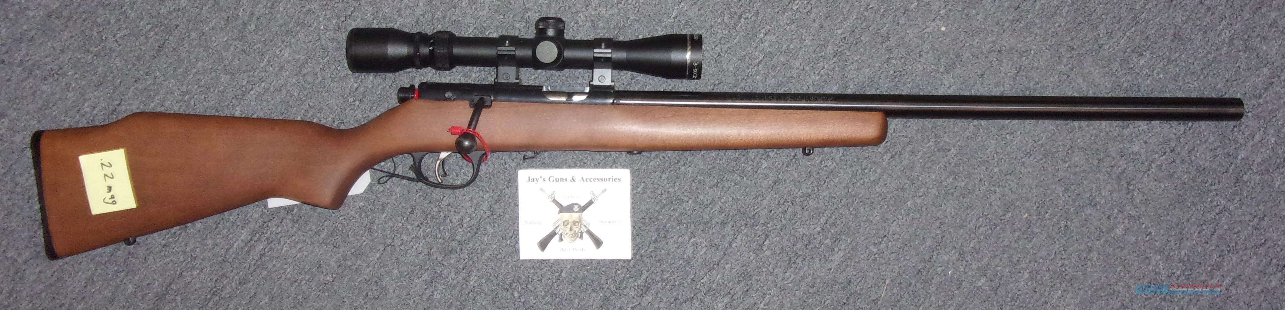 Marlin XT22MVO  Guns > Rifles > Marlin Rifles > Modern > Bolt/Pump