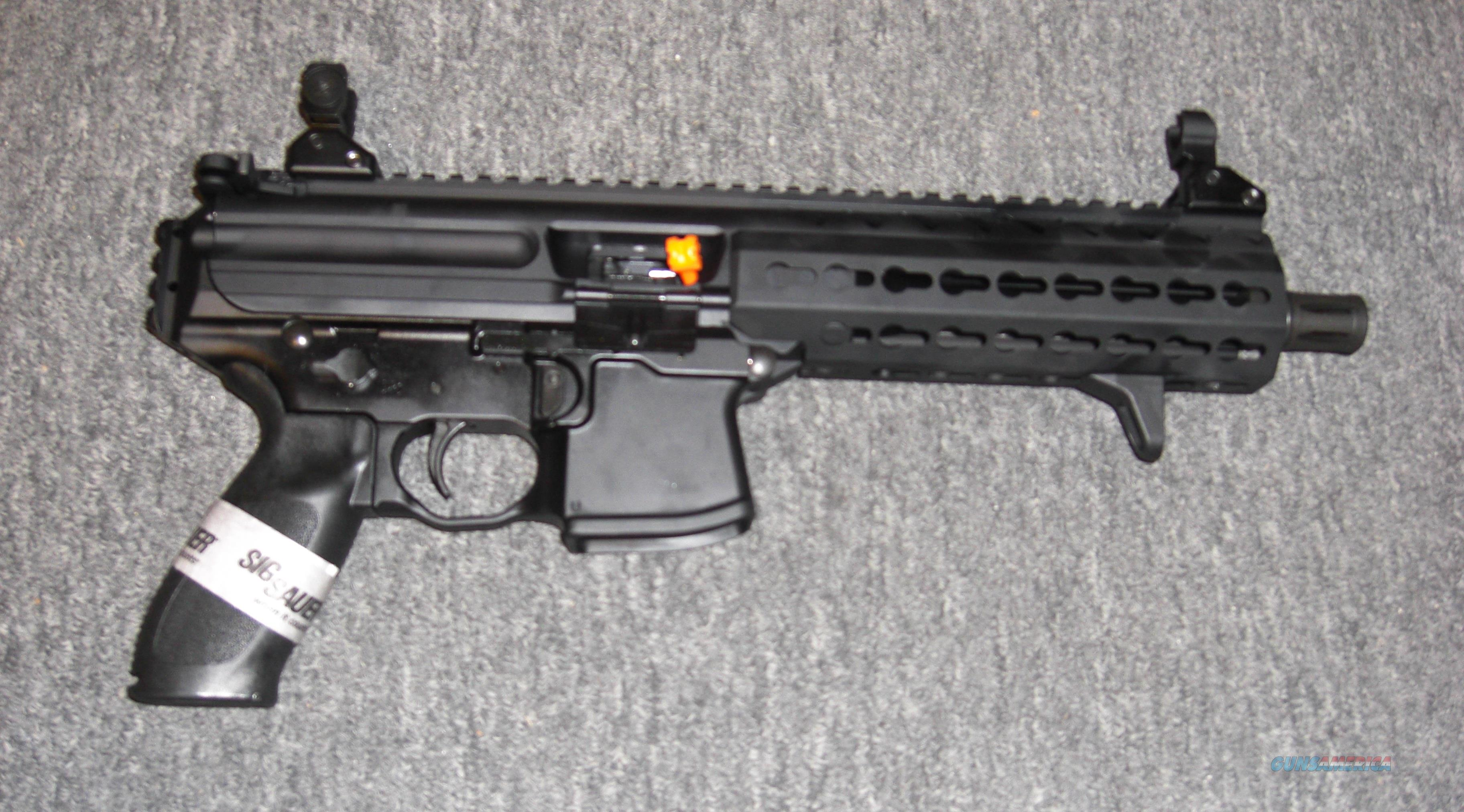 Sig Sauer MPX Pistol .9mm  Guns > Pistols > Sig - Sauer/Sigarms Pistols > Other