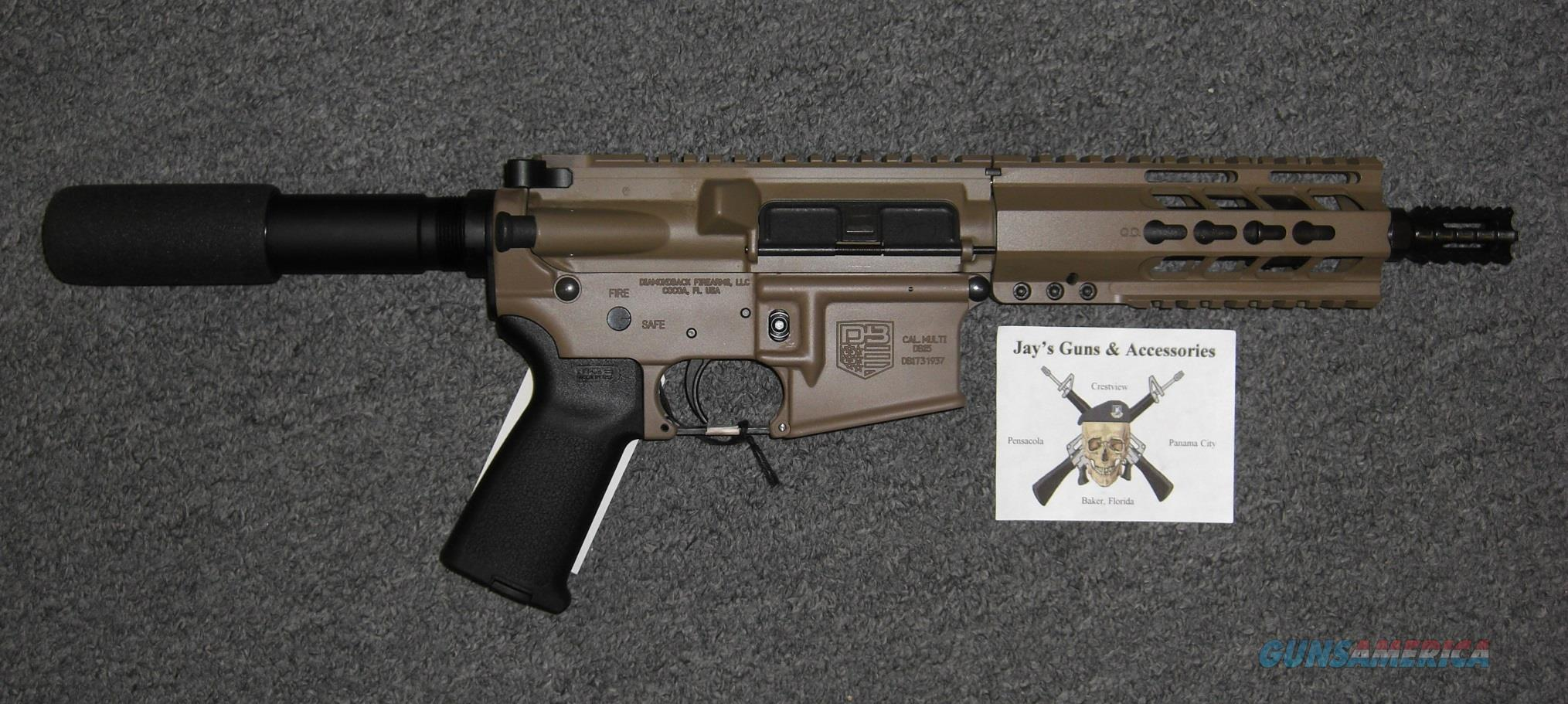 Diamondback DB-15 w/FDE Finish  Guns > Pistols > Diamondback Pistols