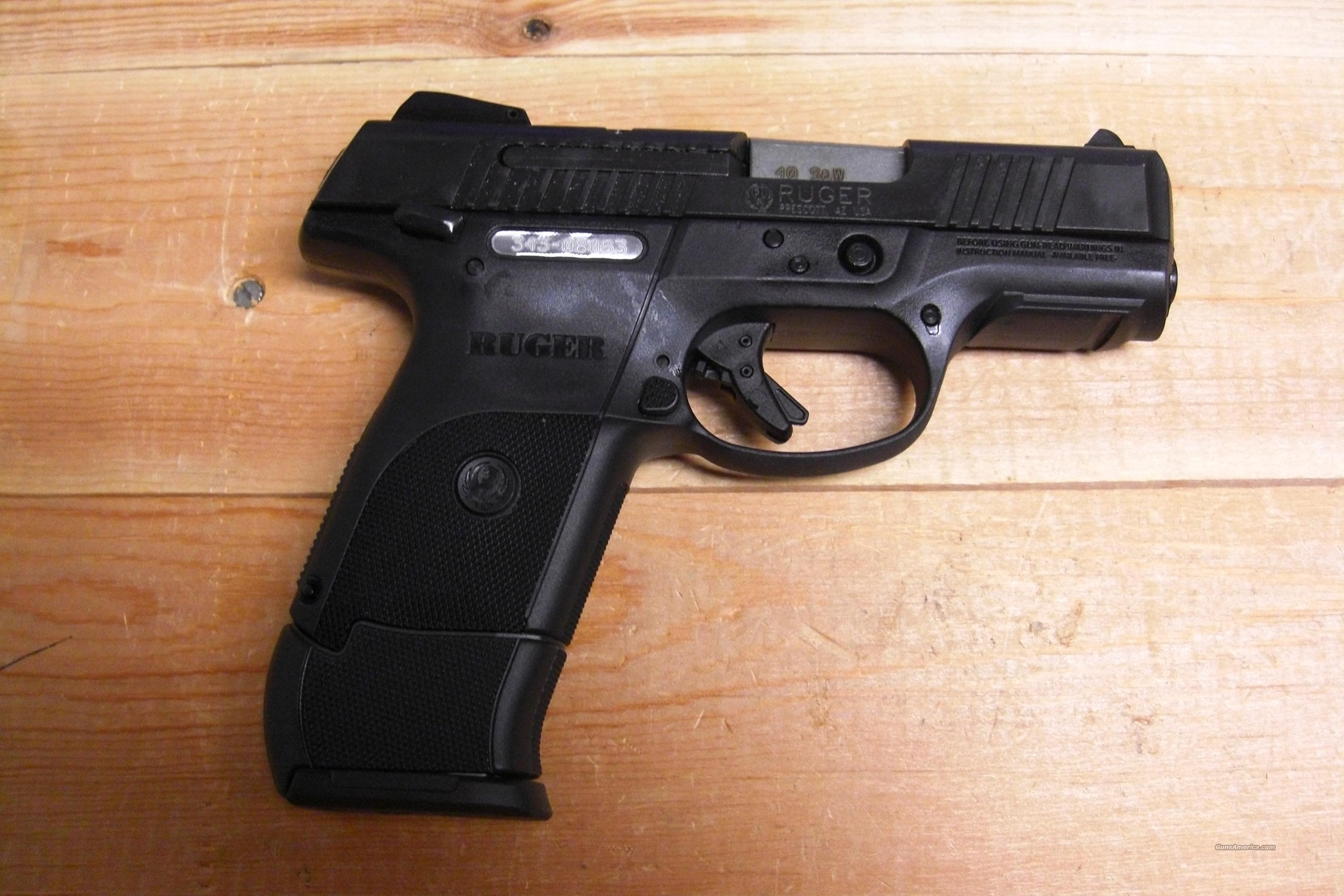 SR 40C w/black finish  Guns > Pistols > Ruger Semi-Auto Pistols > SR Family