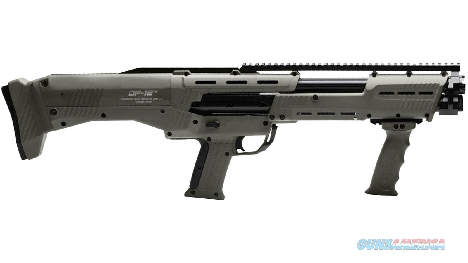 Standard Mfg DP-12 w/OD Green Finish  Guns > Shotguns > Military Misc. Shotguns US