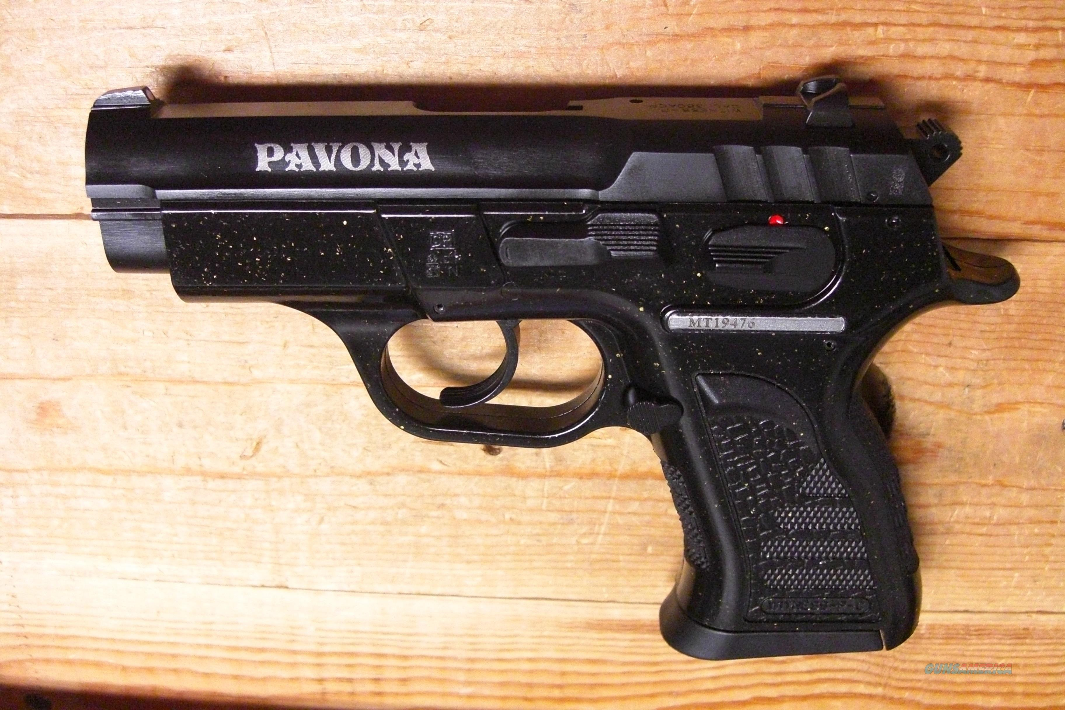 EAA/Tanfoglio Pavana Witness-P  w/black & gold speckled frame  Guns > Pistols > EAA Pistols > Other