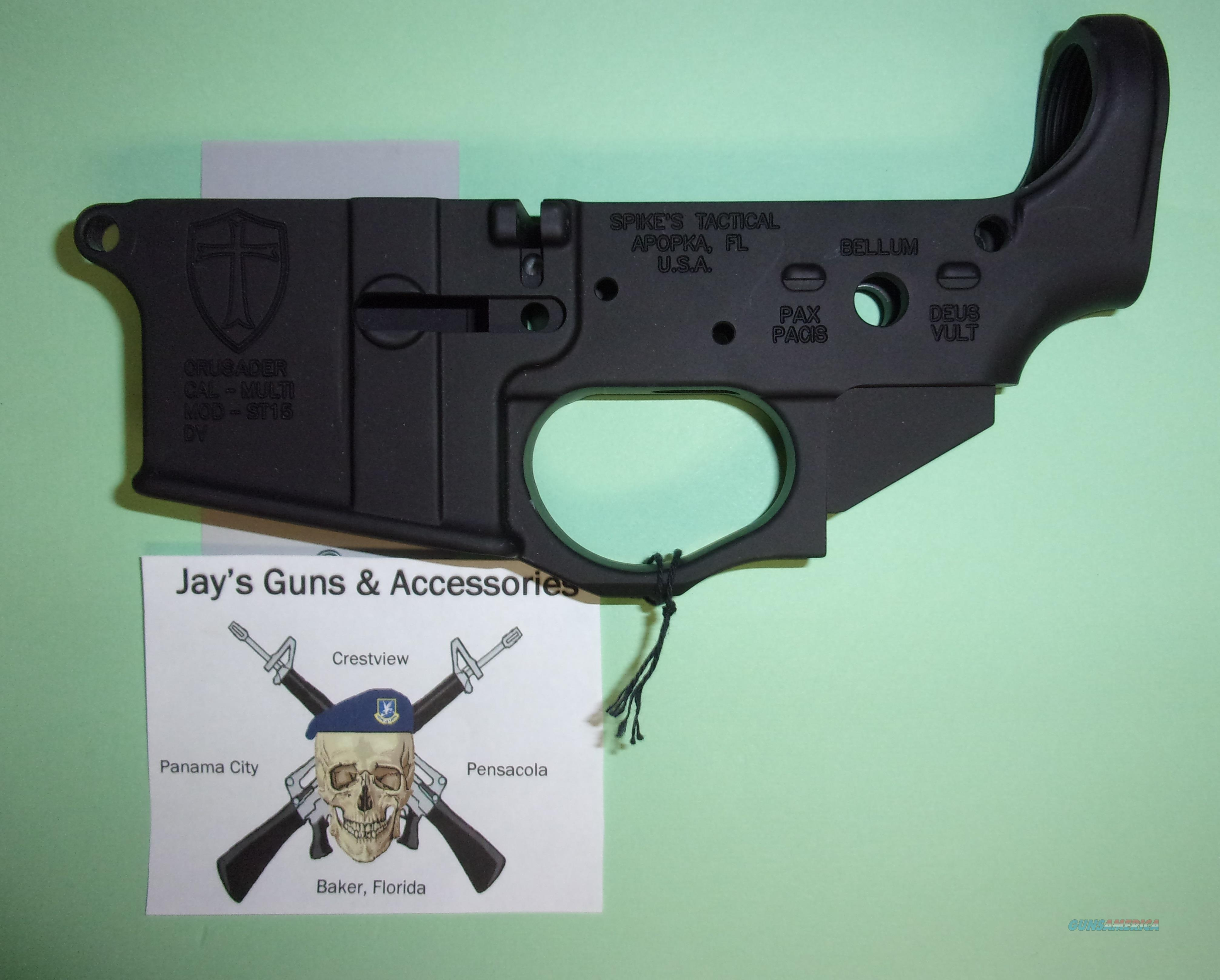 Spike's Tactical ST-15 Crusader Lower *Build Your Own*  Guns > Rifles > AR-15 Rifles - Small Manufacturers > Lower Only
