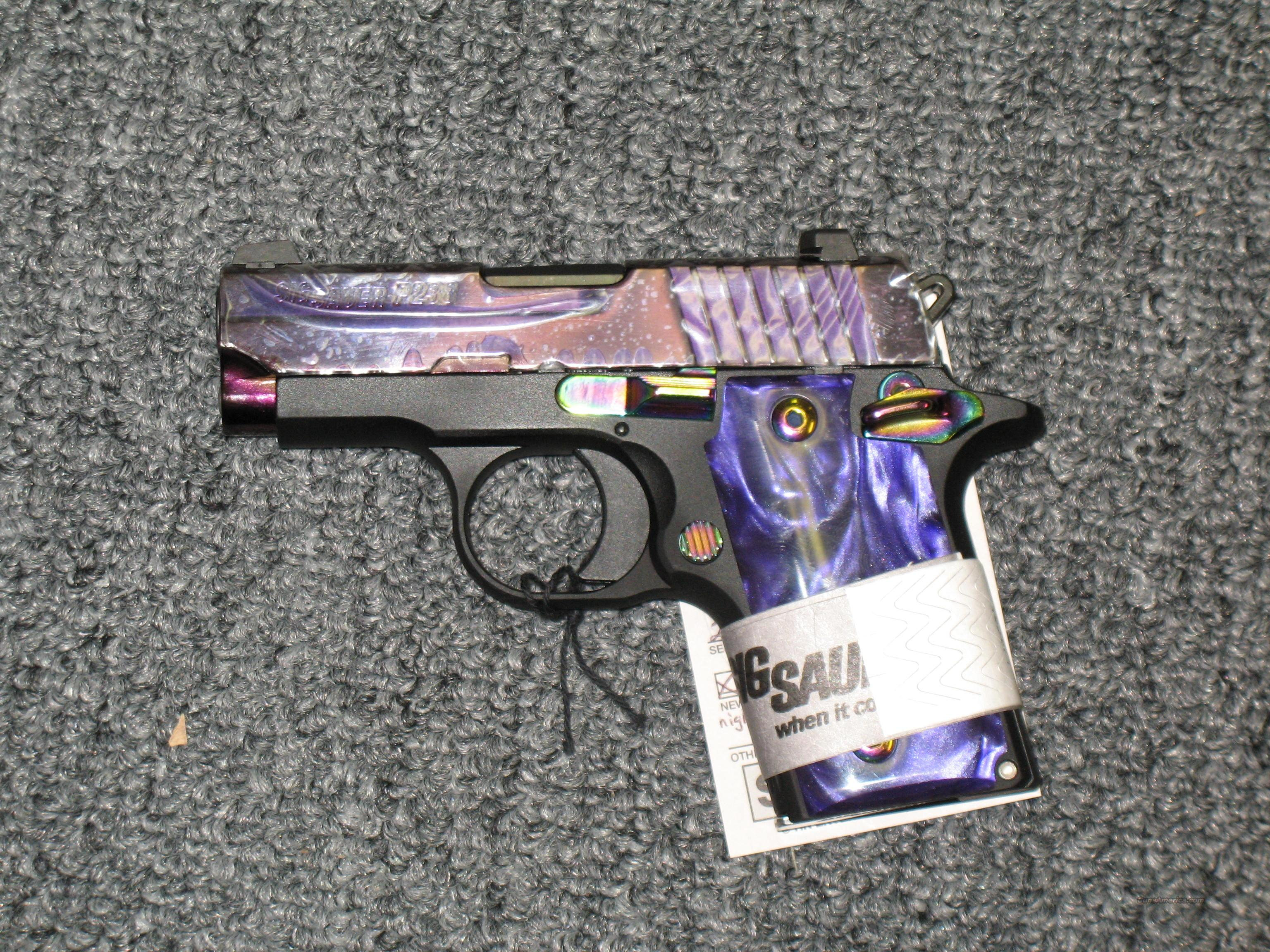 P238 w/night sights, purple grips and slide  Guns > Pistols > Sig - Sauer/Sigarms Pistols > Other