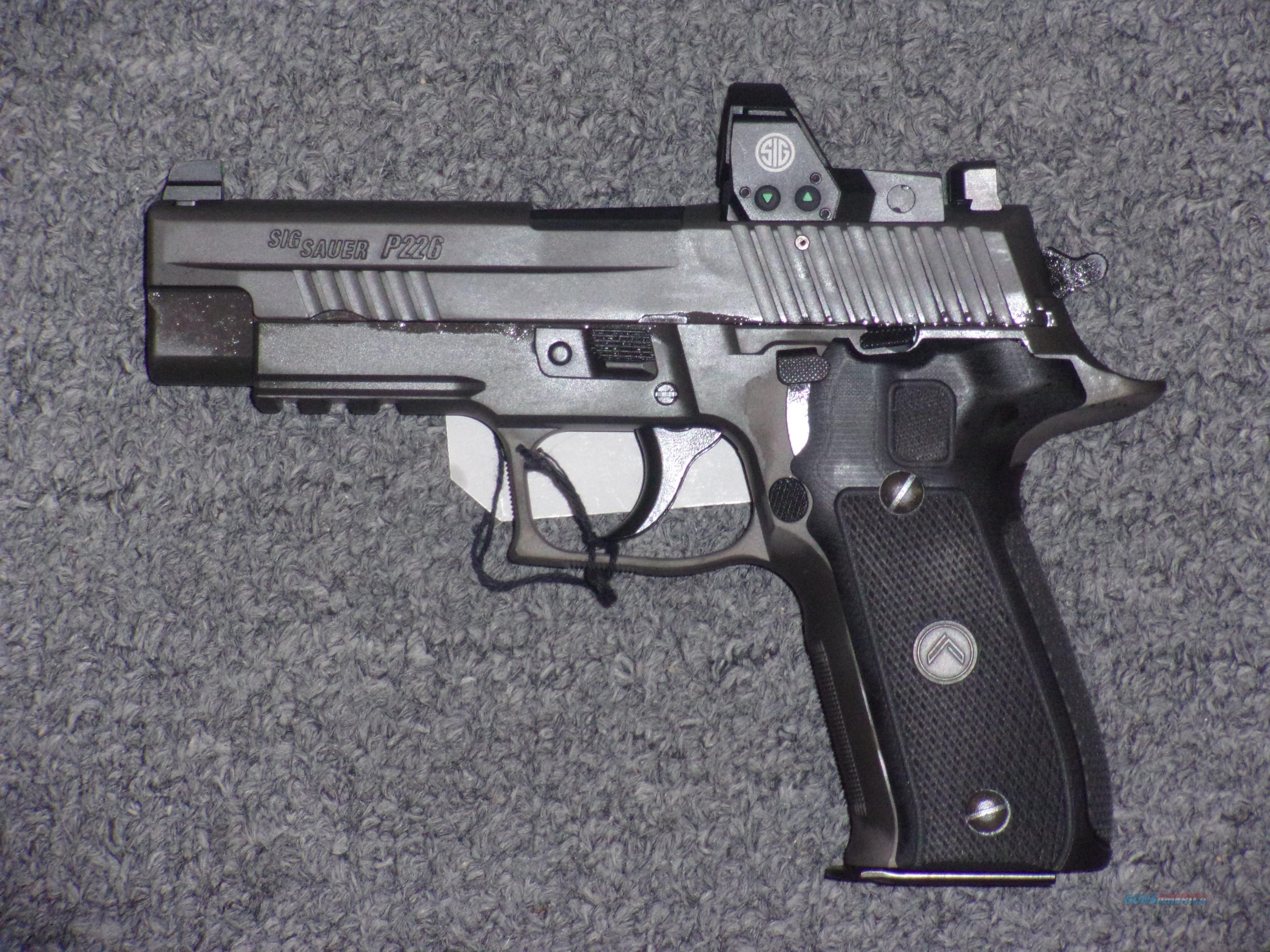 Sig Sauer P226 Legion RX 9mm  Guns > Pistols > Sig - Sauer/Sigarms Pistols > P226