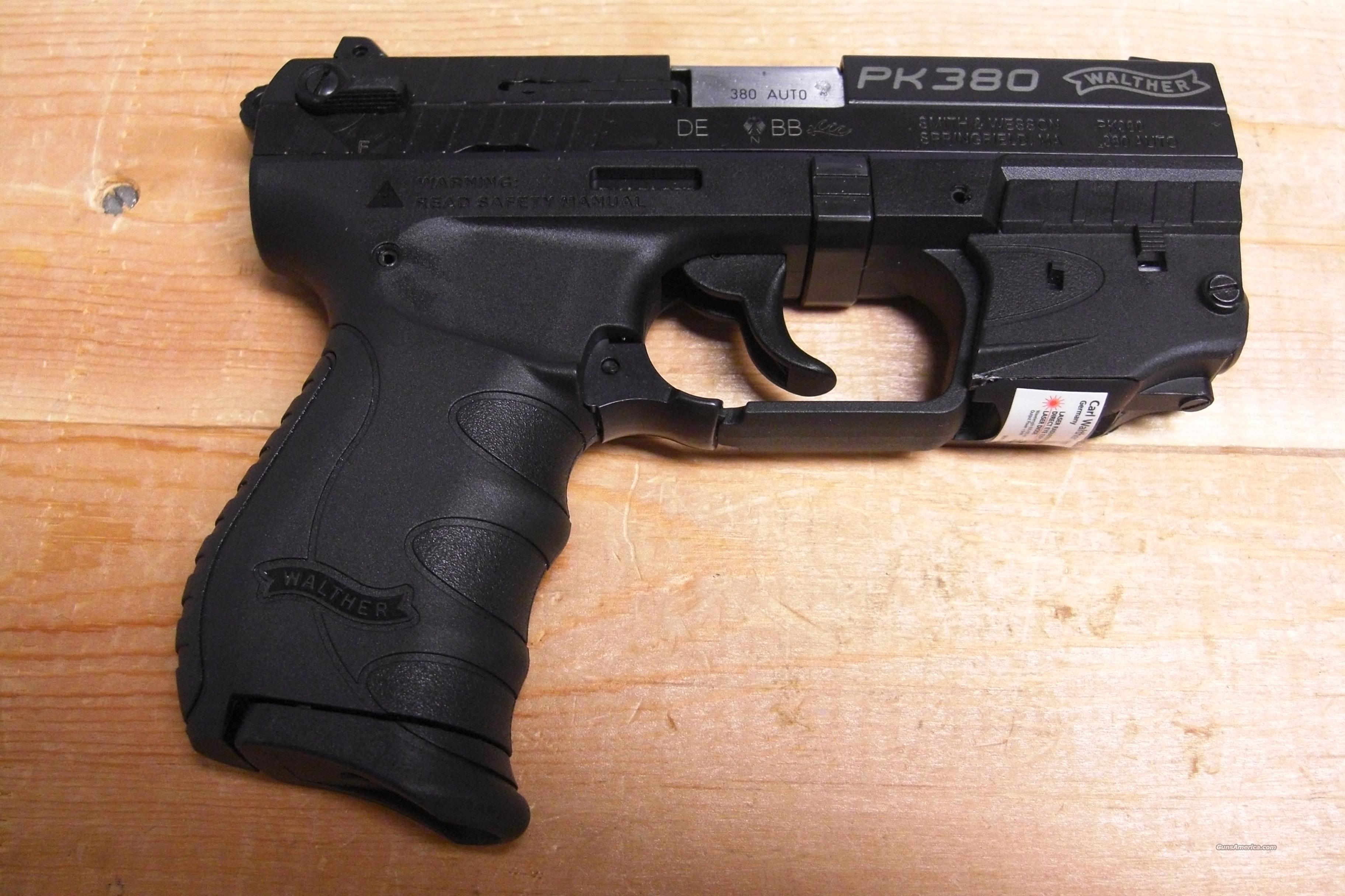 PK380 w/red dot laser  Guns > Pistols > Walther Pistols > Post WWII > PPK Series