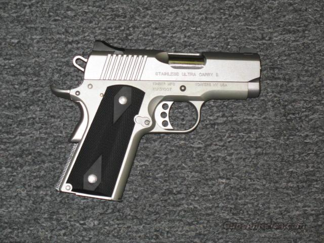 Stainless Ultra Carry II  Guns > Pistols > Kimber of America Pistols