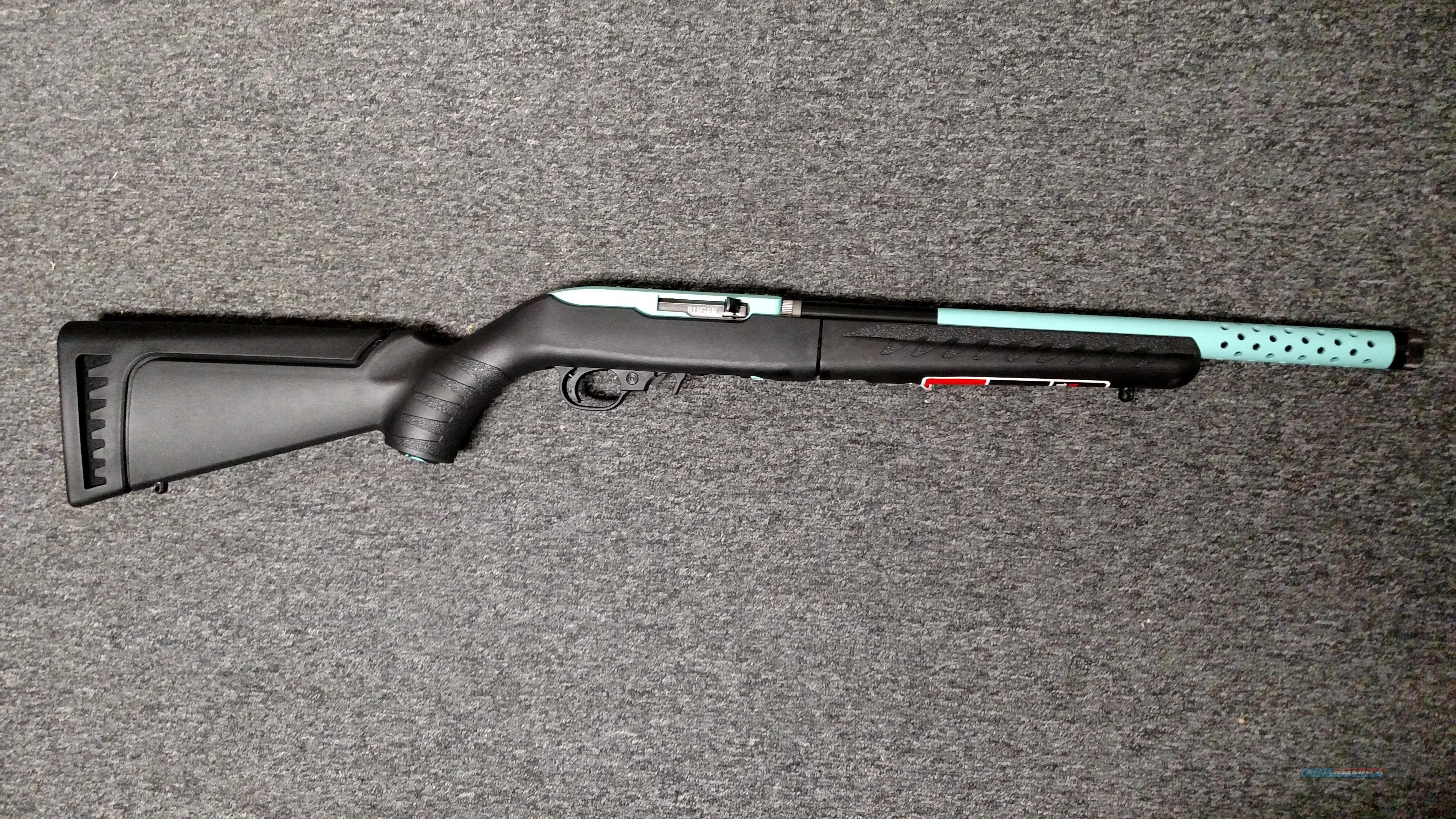 10/22 Takedown Lite (Turquoise)  Guns > Rifles > Ruger Rifles > 10-22