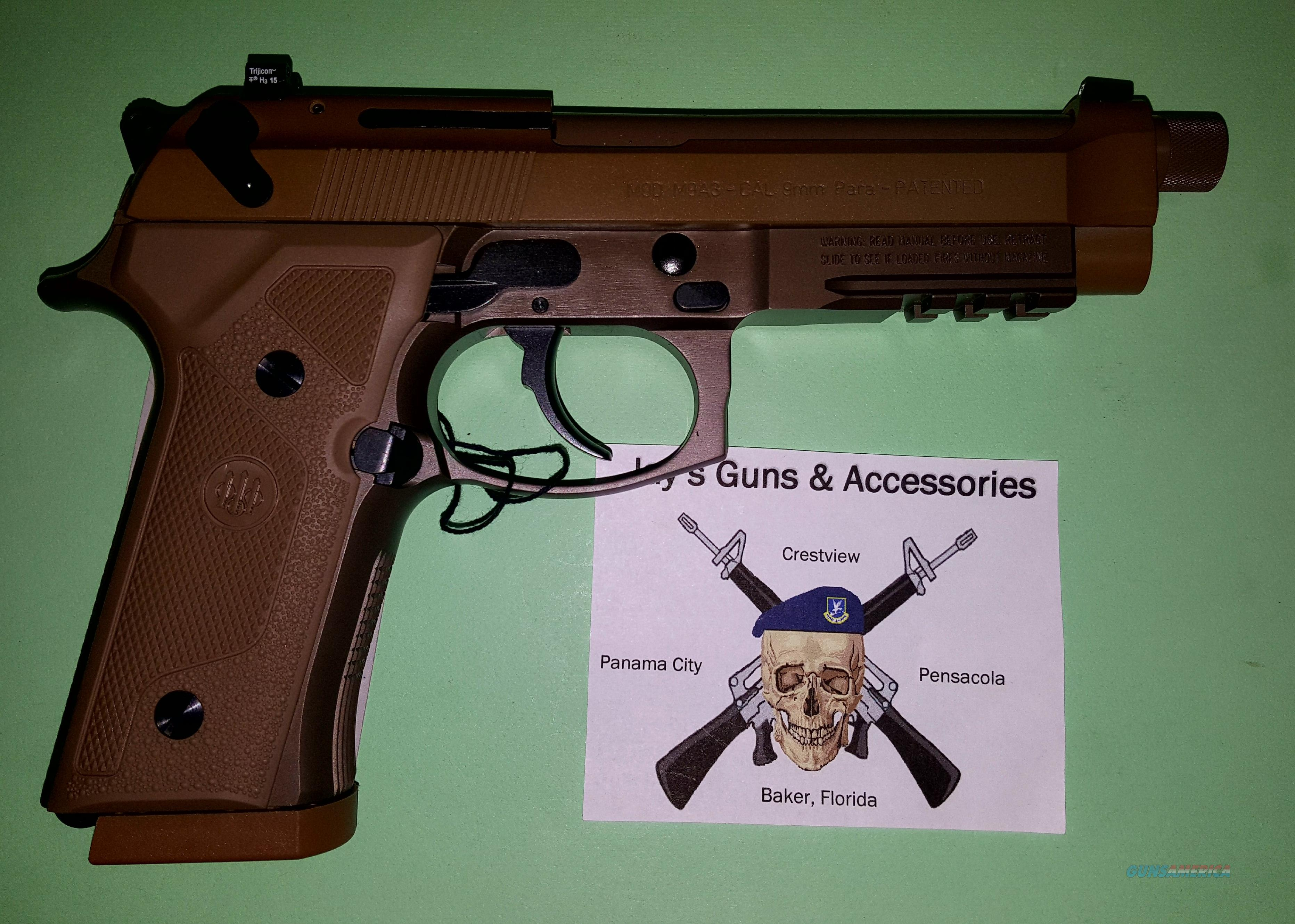 Beretta M9A3 (JS9M9A3M) in FDE w/Night Sights  Guns > Pistols > Beretta Pistols > M9