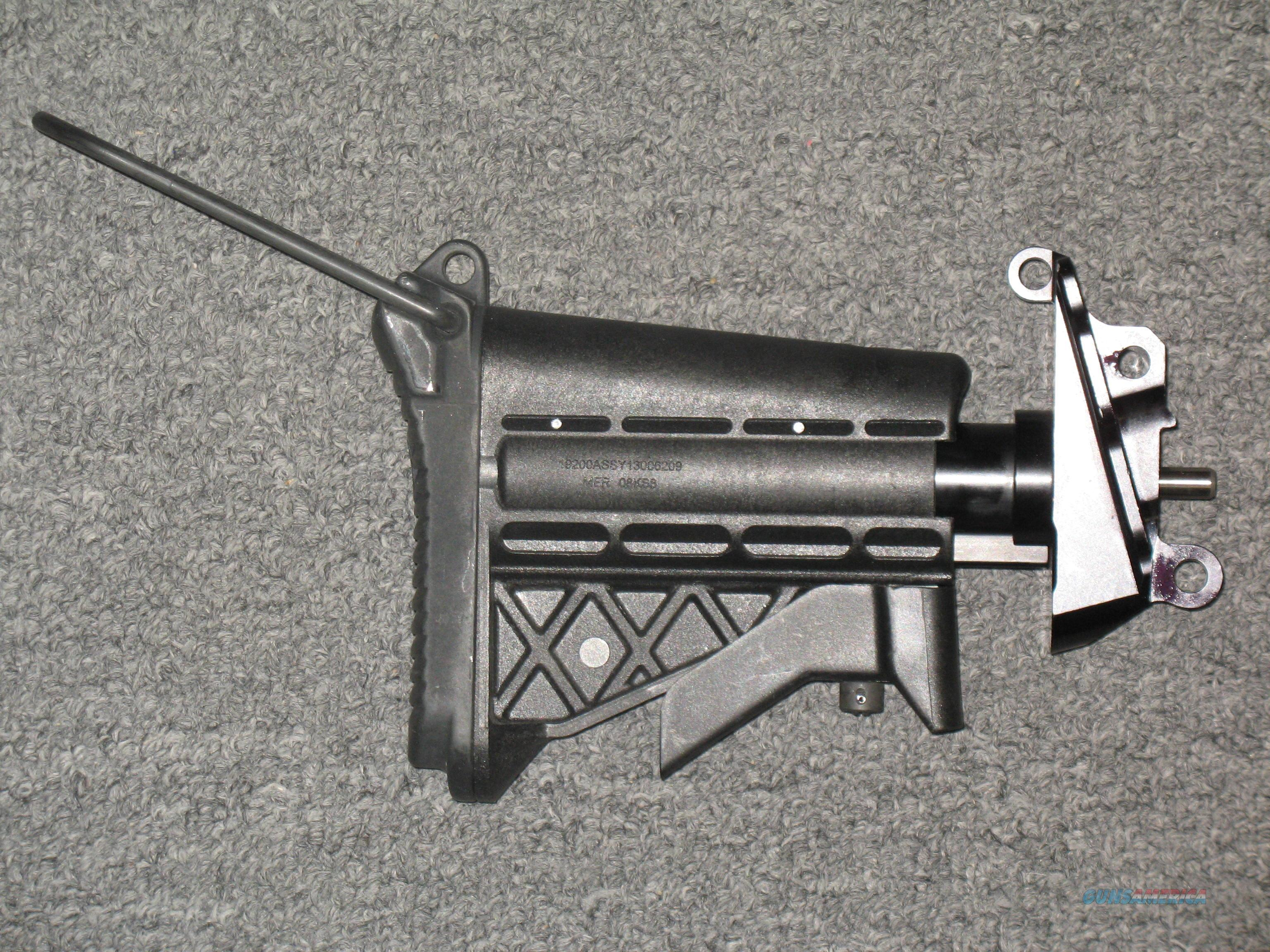 M249 SAW Hydraulic Buffer System (Collapsible Stock)  Non-Guns > Gun Parts > Military - American