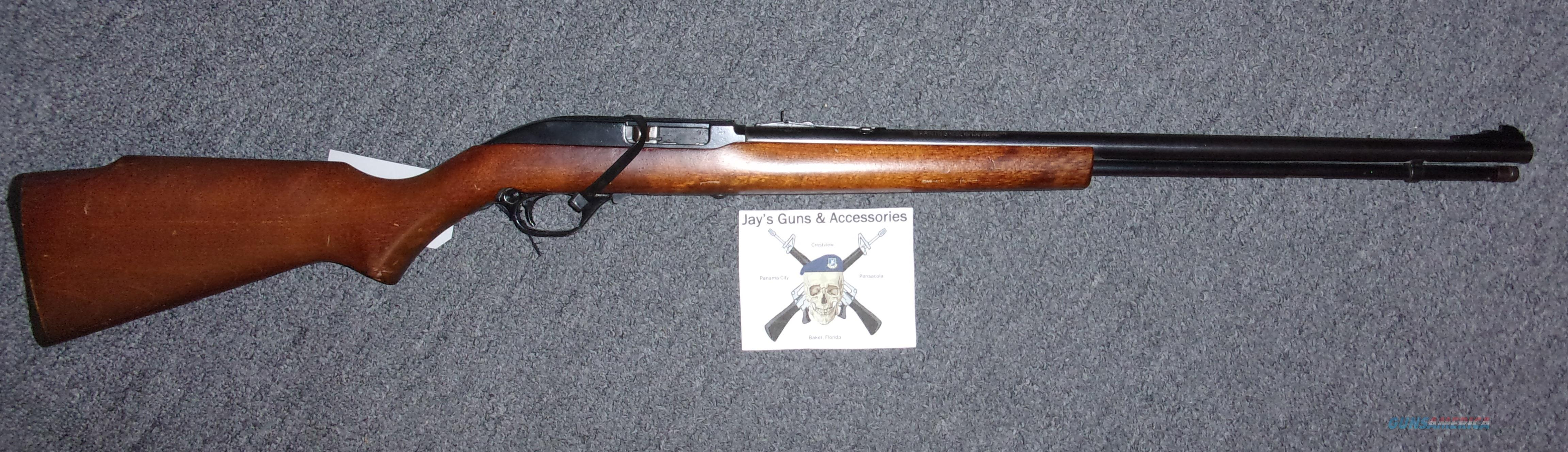 Marlin 60  Guns > Rifles > Marlin Rifles > Modern > Semi-auto