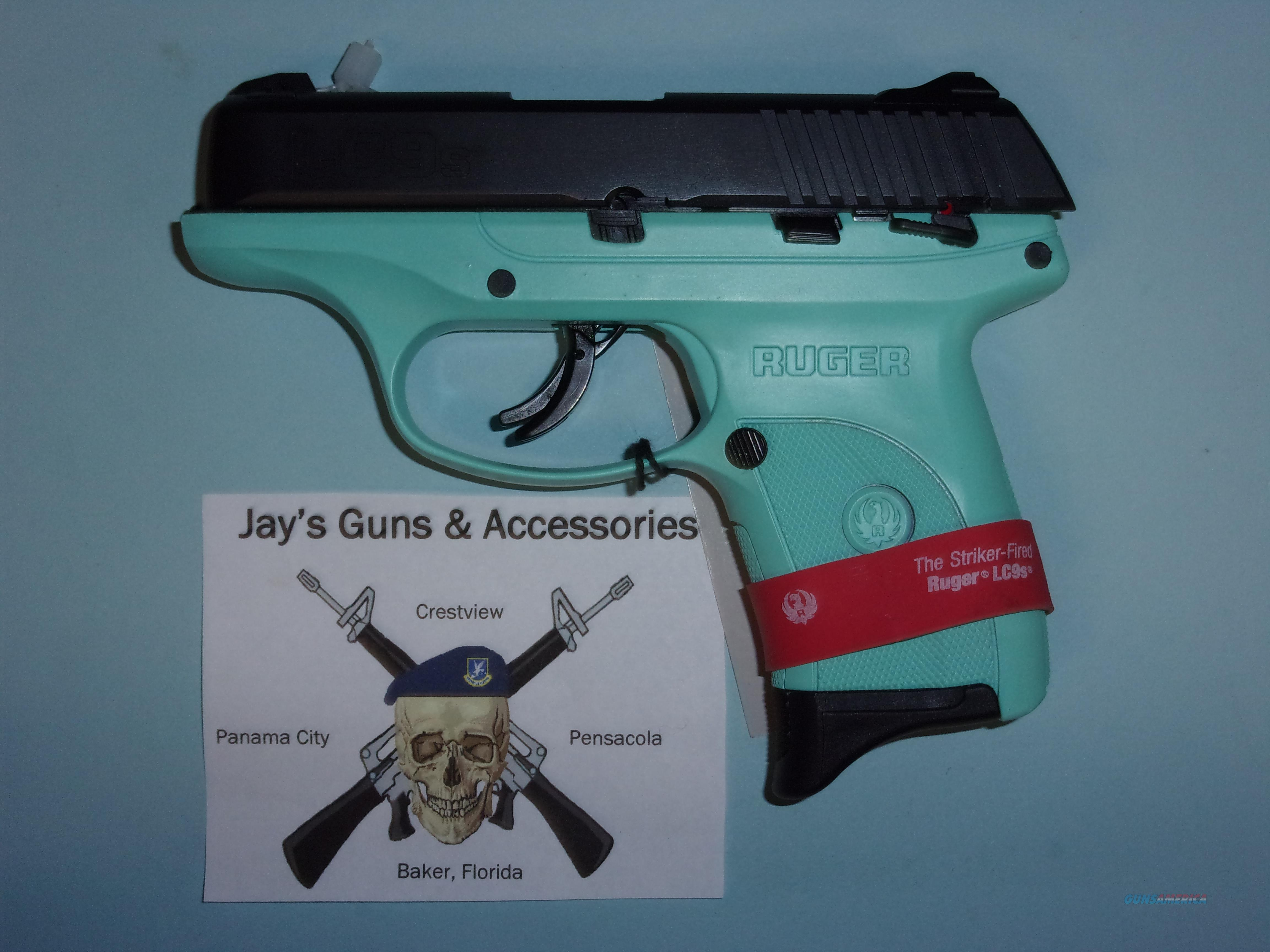Ruger LC9S (03262) w/Turquoise Frame  Guns > Pistols > Ruger Semi-Auto Pistols > LC9