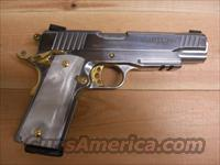 PT 1911 AR  stainless w/gold accents  Guns > Pistols > Taurus Pistols/Revolvers > Pistols > Steel Frame