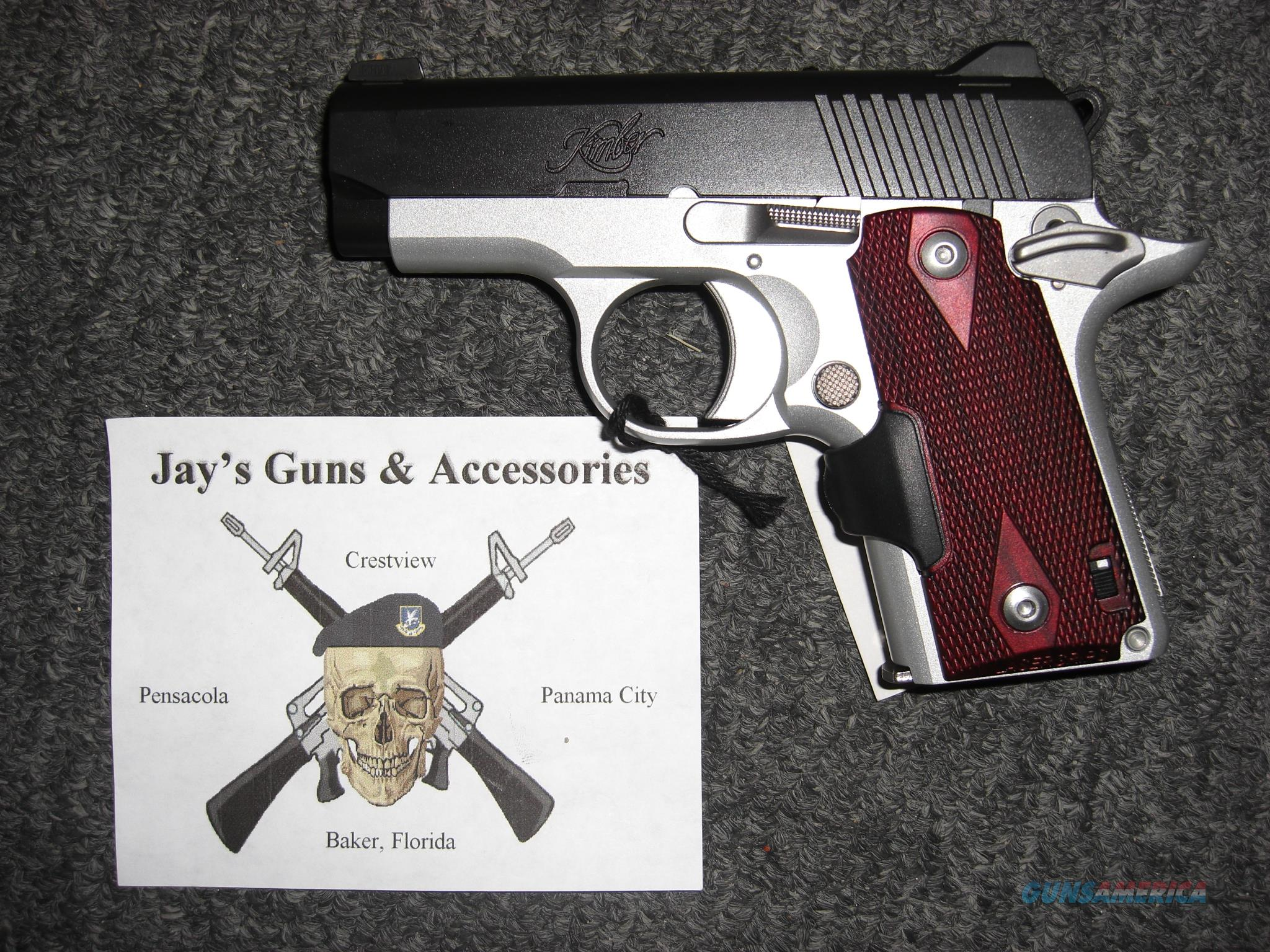 Kimber Micro Crimson Carry w/Laser Grips in .380 ACP Guns > Pistols >  Kimber of America Pistols > Micro