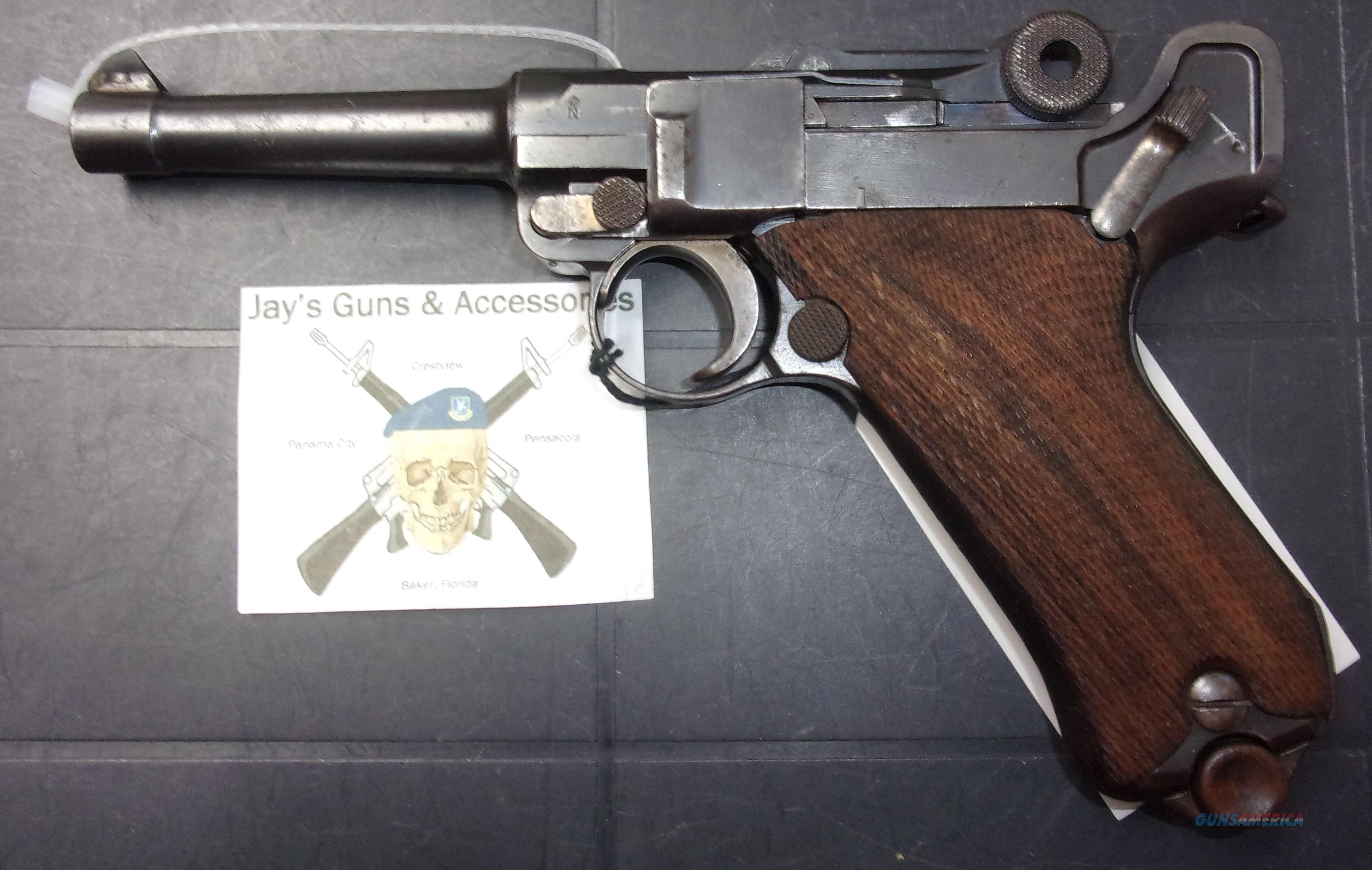 DWM Luger  Guns > Pistols > Luger Pistols