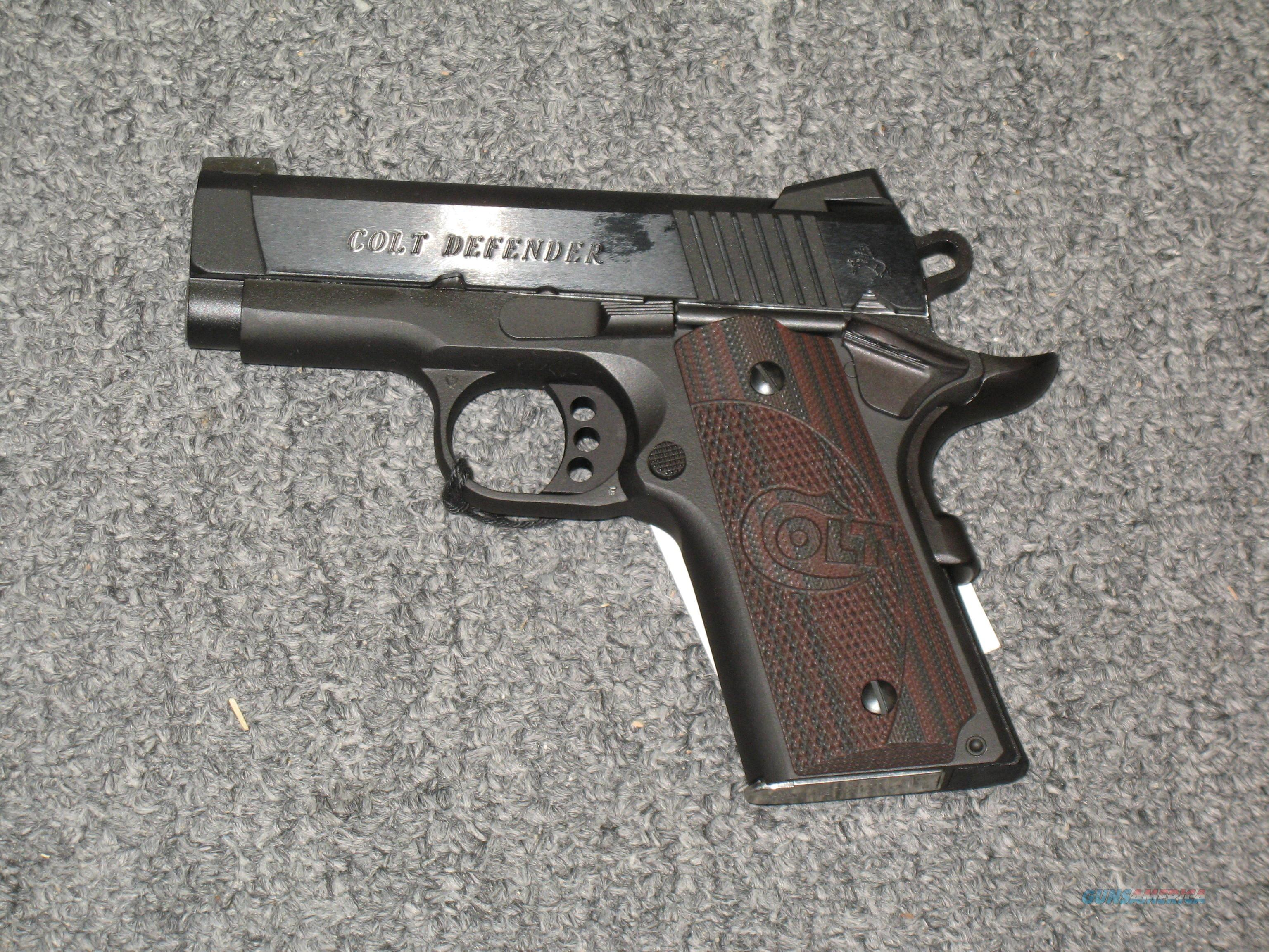 Lightweight Defender Matte Blued .45acp  Guns > Pistols > Colt Automatic Pistols (1911 & Var)