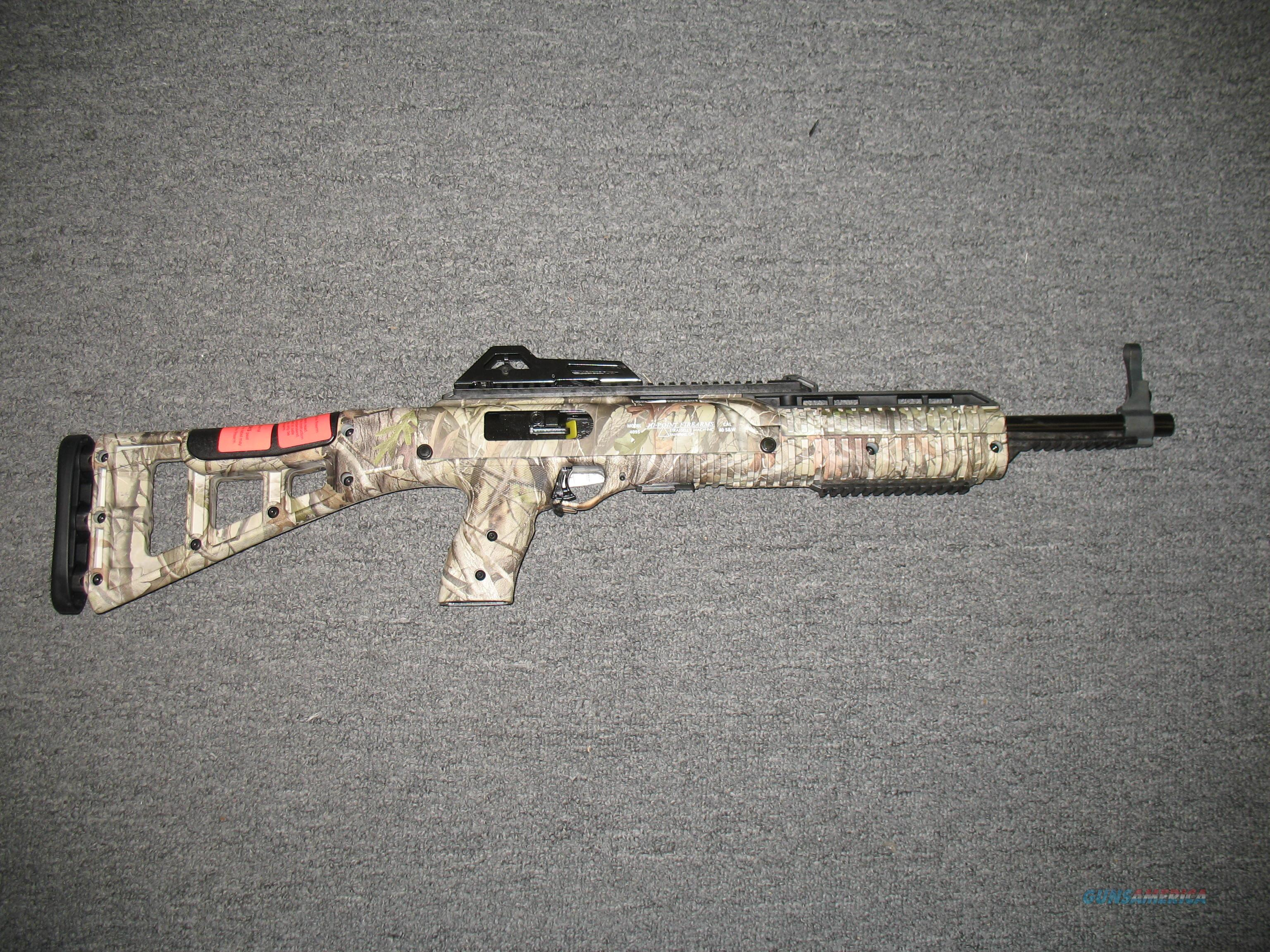 4095 w/sling and hardwoods camo finish  Guns > Rifles > Hi Point Rifles
