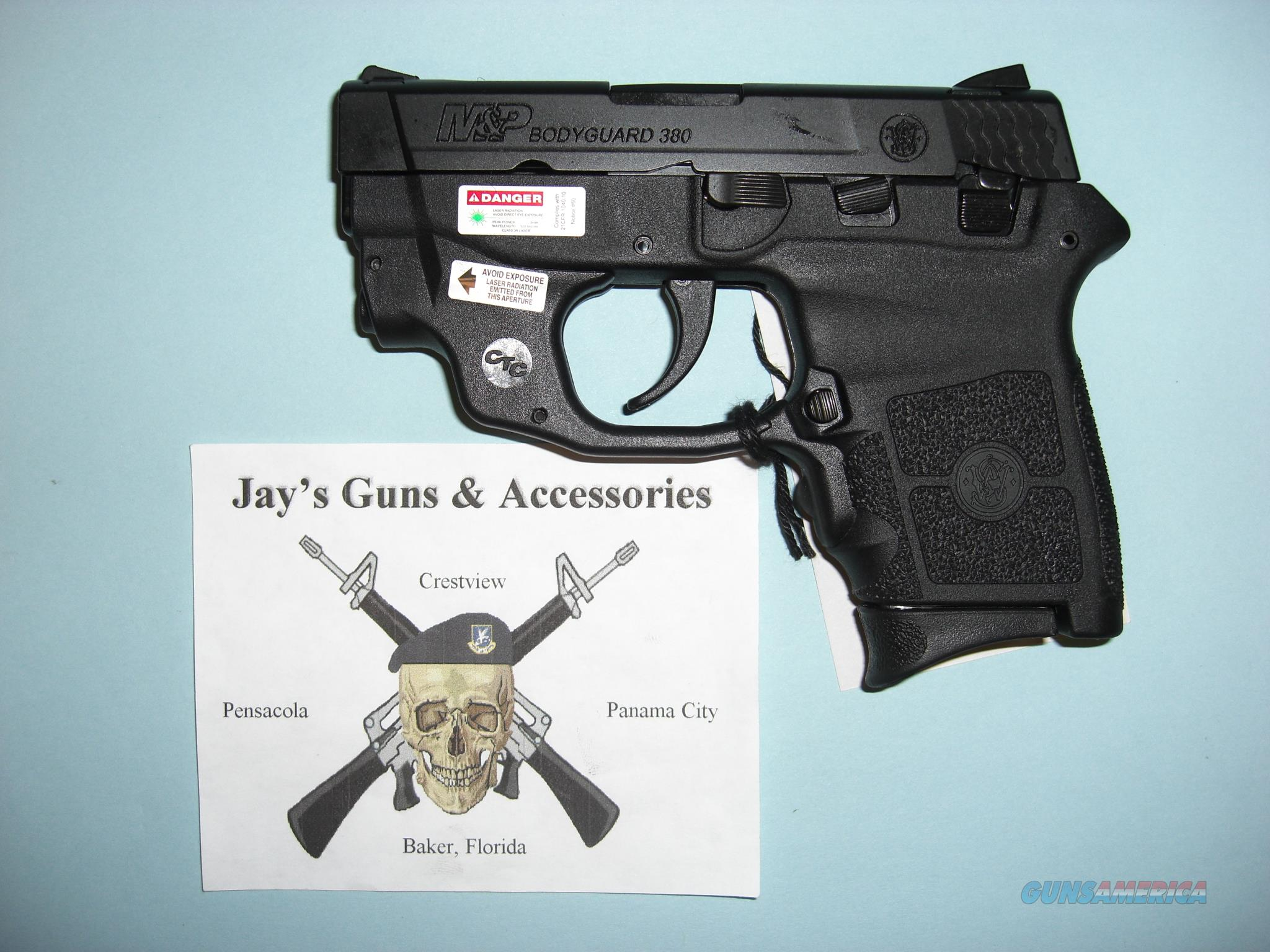 Smith & Wesson M&P Bodyguard 380 (10178) w/Crimson Trace Green Laser  Guns > Pistols > Smith & Wesson Pistols - Autos > Polymer Frame