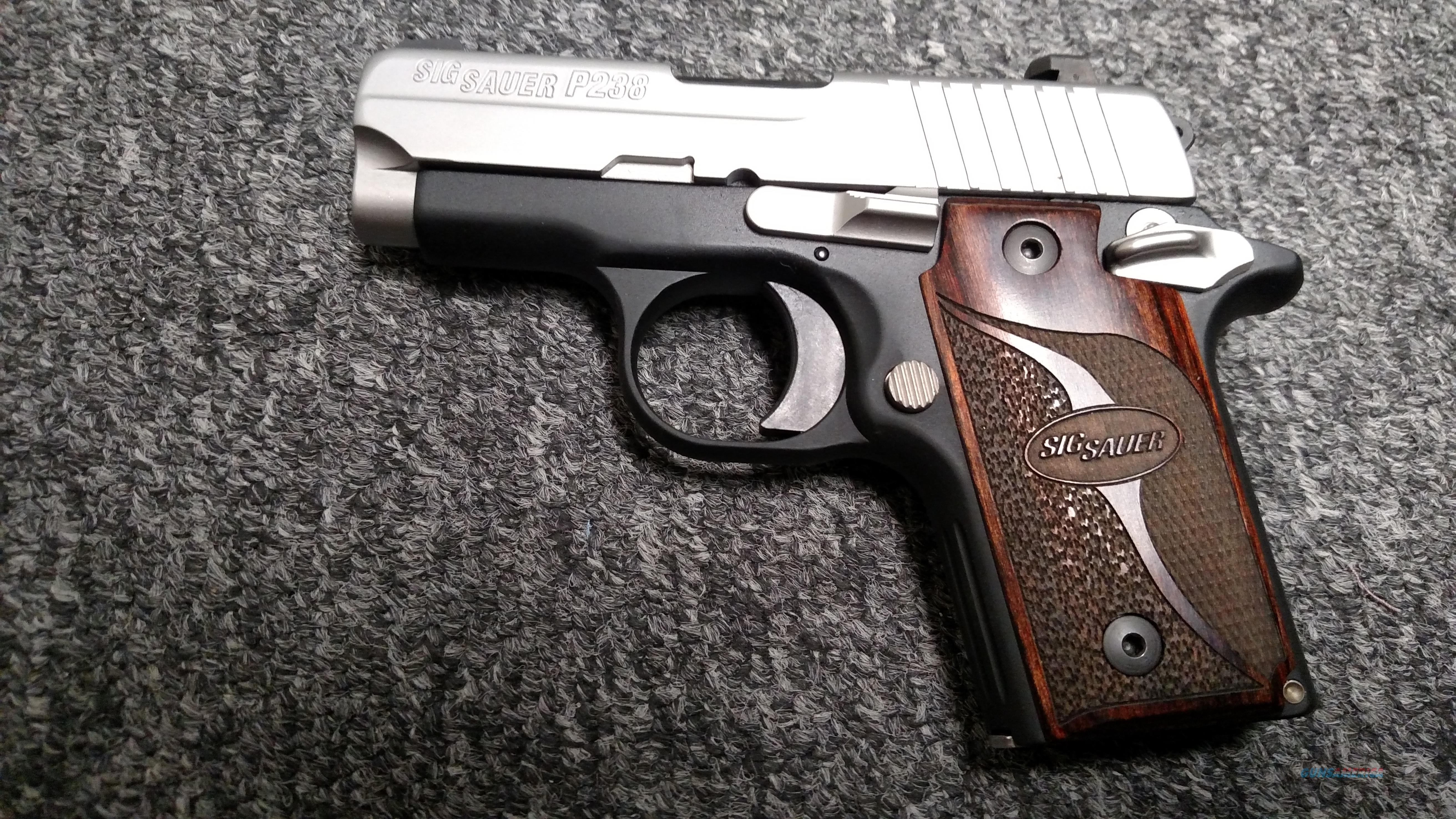 P238 (two-tone, night sights, .380 ACP)  Guns > Pistols > Sig - Sauer/Sigarms Pistols > P238