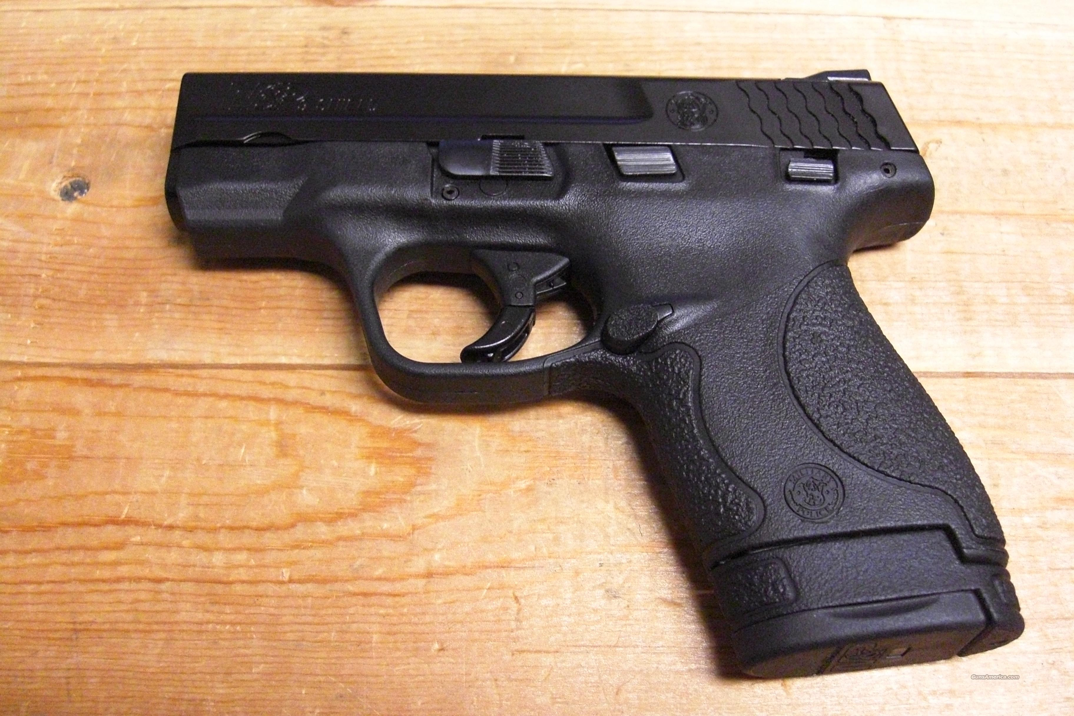 M & P 9 Shield with thumb safety  Guns > Pistols > Smith & Wesson Pistols - Autos > Polymer Frame