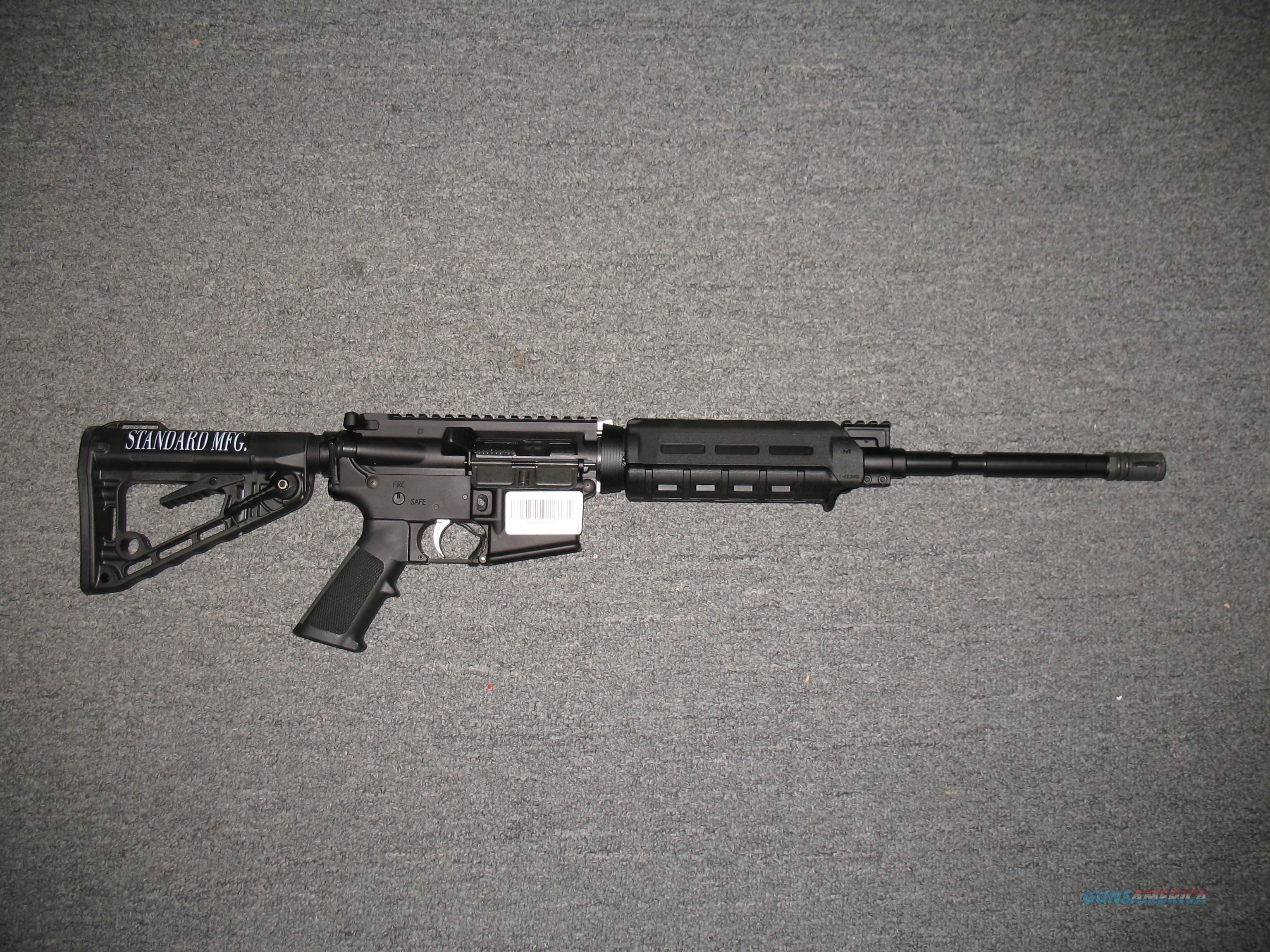 Standard Manufacturing STD-15  Guns > Rifles > AR-15 Rifles - Small Manufacturers > Complete Rifle
