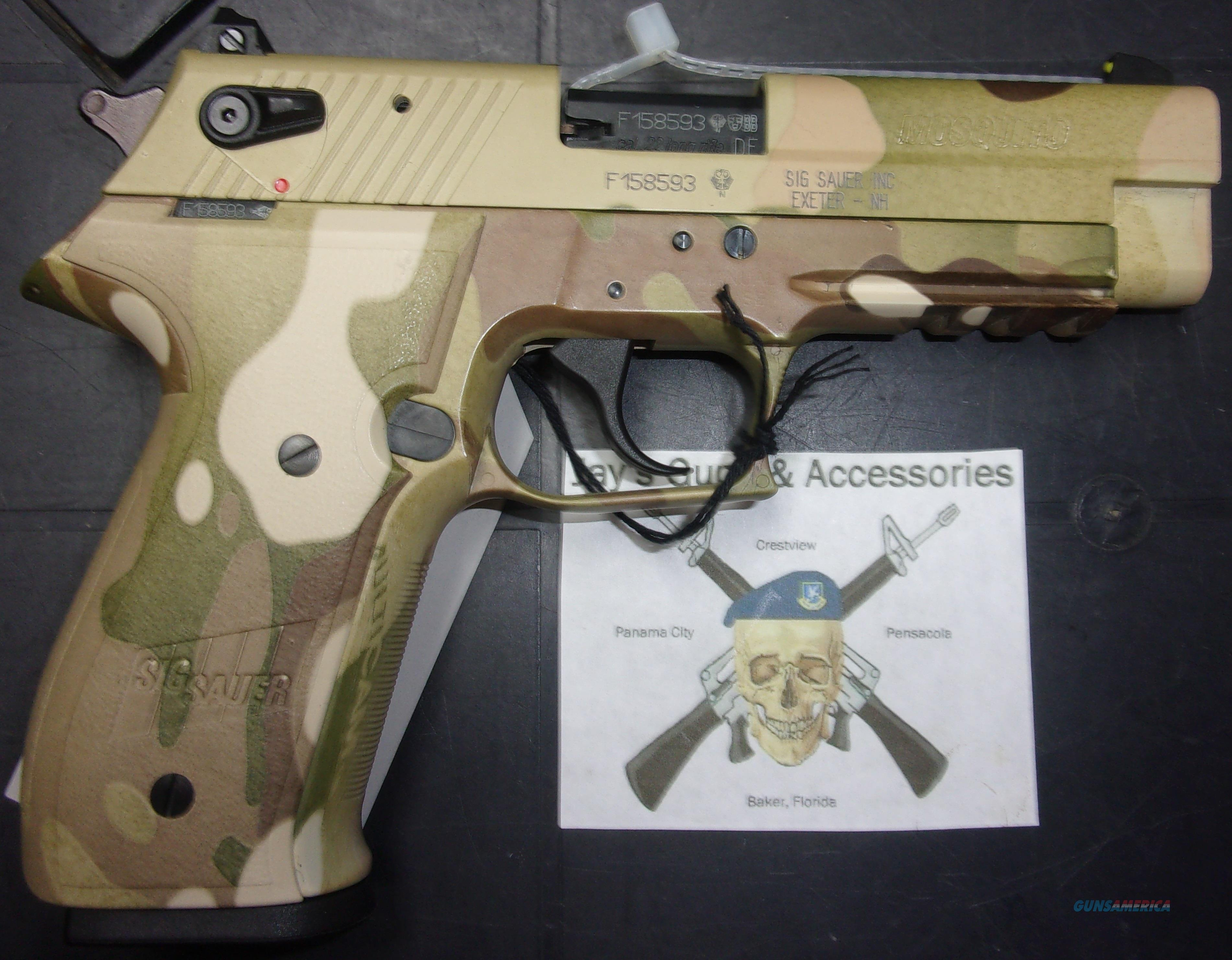 Sig Sauer Mosquito (MOS-22-MULTI)  Guns > Pistols > Sig - Sauer/Sigarms Pistols > Mosquito